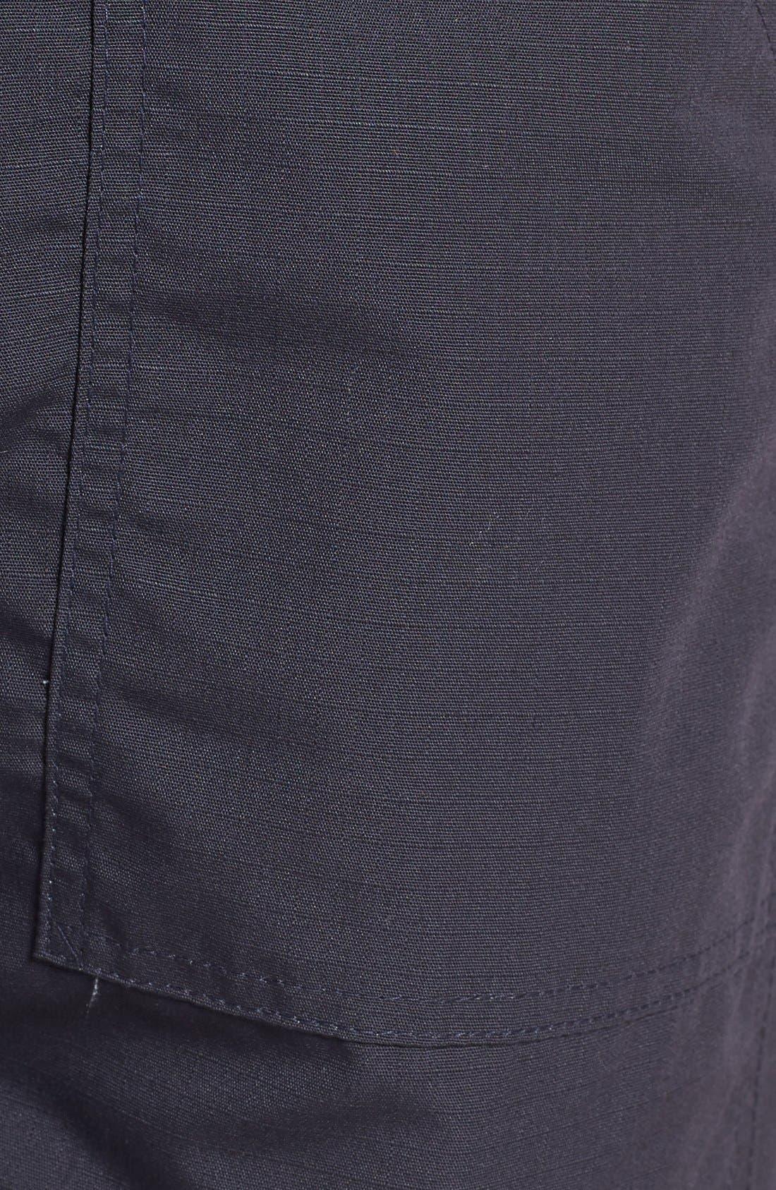 Slim Fit Four Pocket Fatigue Pants,                             Alternate thumbnail 5, color,                             410