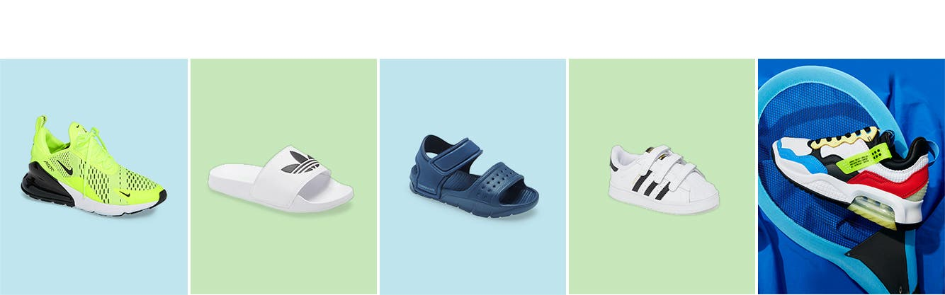 Boys' shoes for summer.