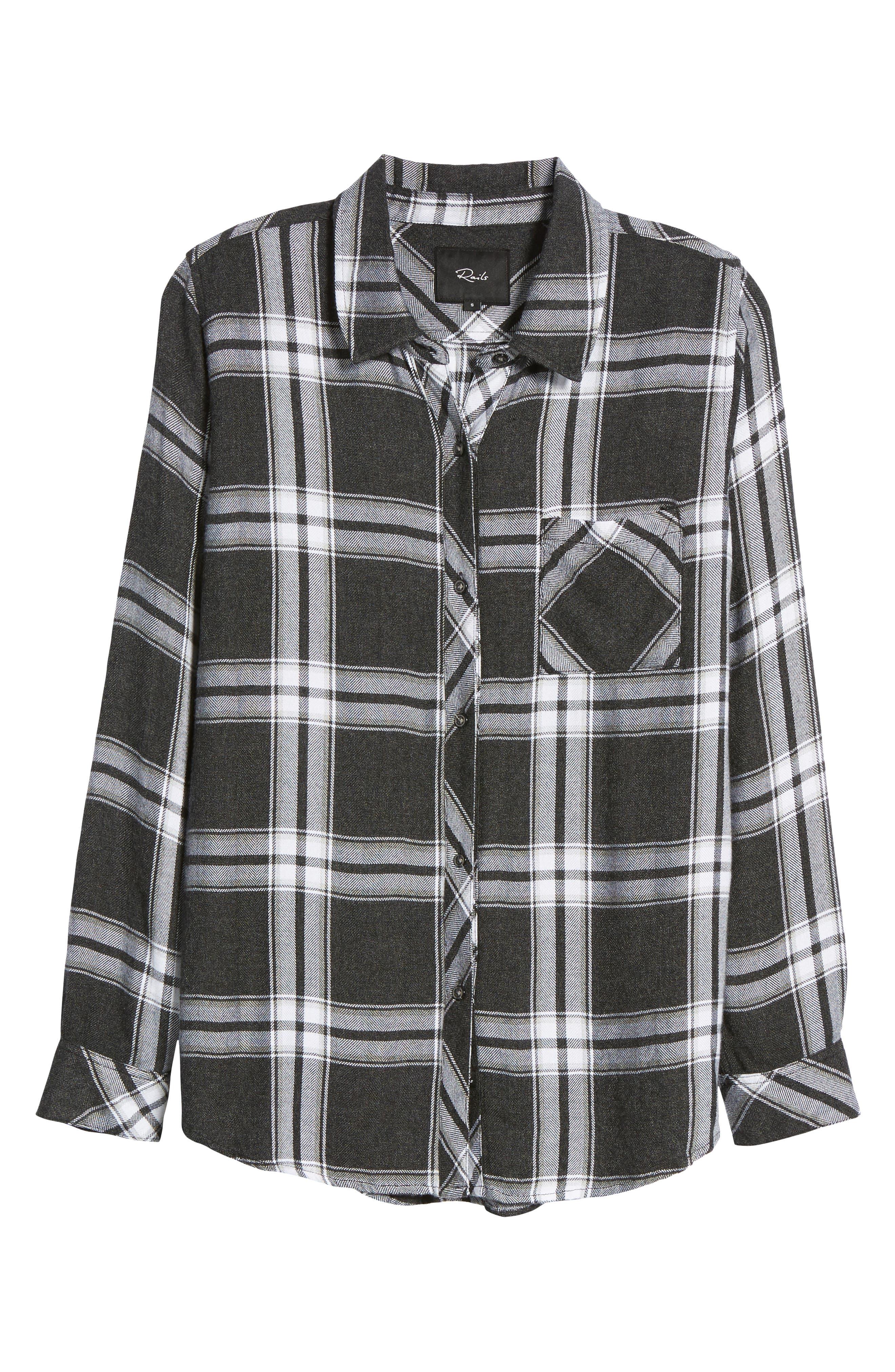 Hunter Plaid Shirt,                             Alternate thumbnail 692, color,
