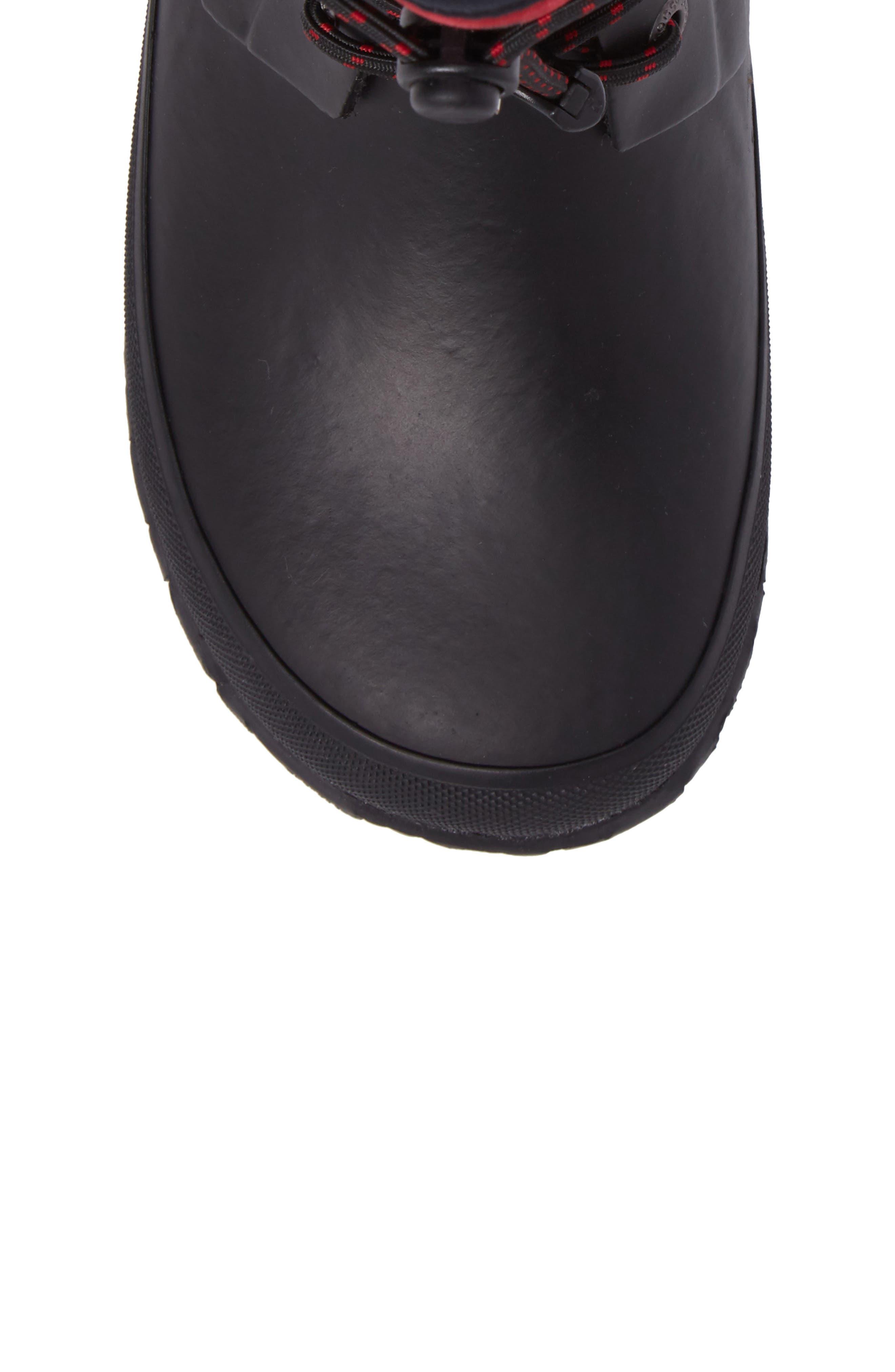 Amanda Plaid Insulated Waterproof Boot,                             Alternate thumbnail 5, color,                             009