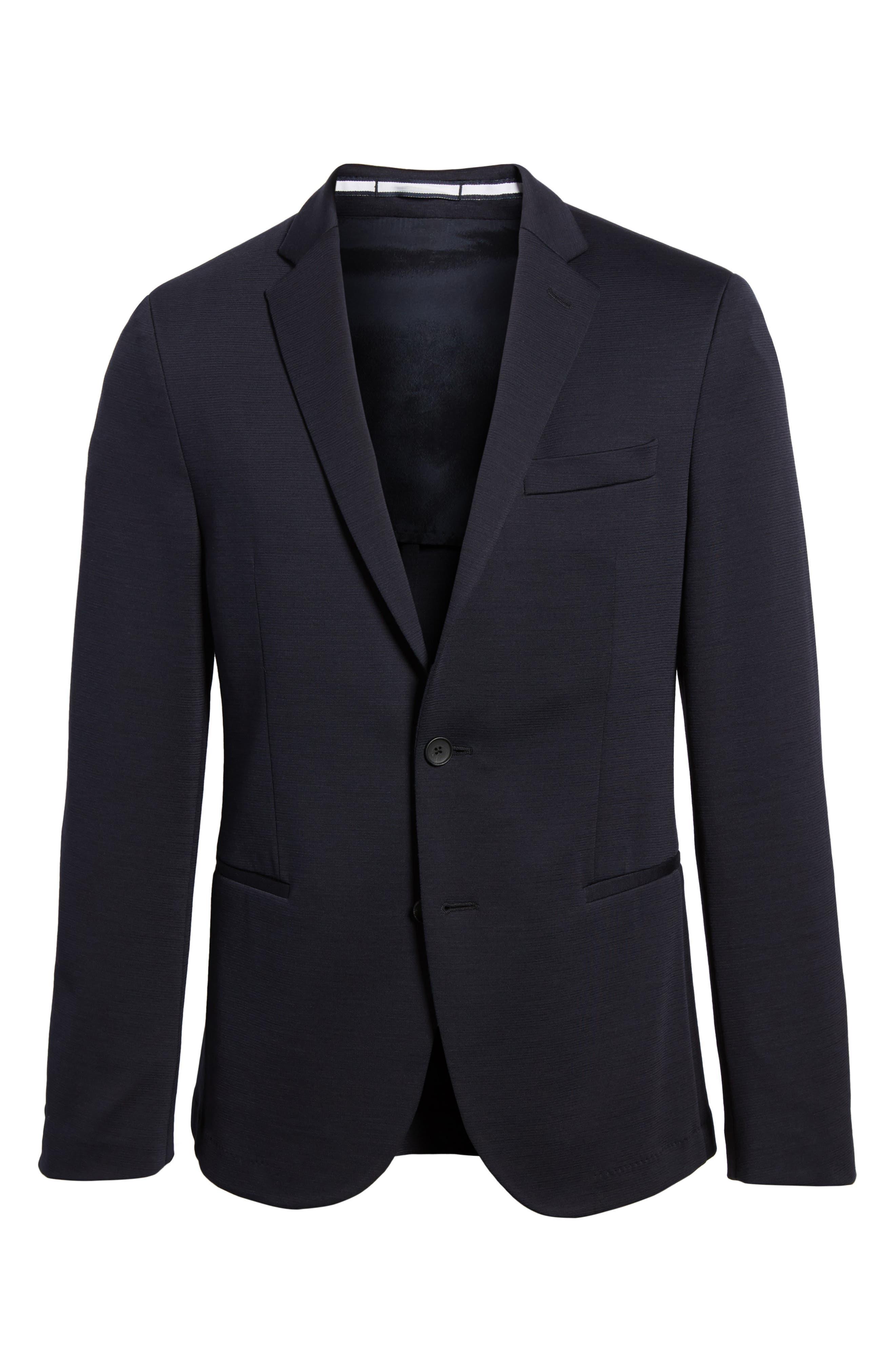 Norwin Trim Fit Wool Blend Sport Coat,                             Alternate thumbnail 5, color,                             410