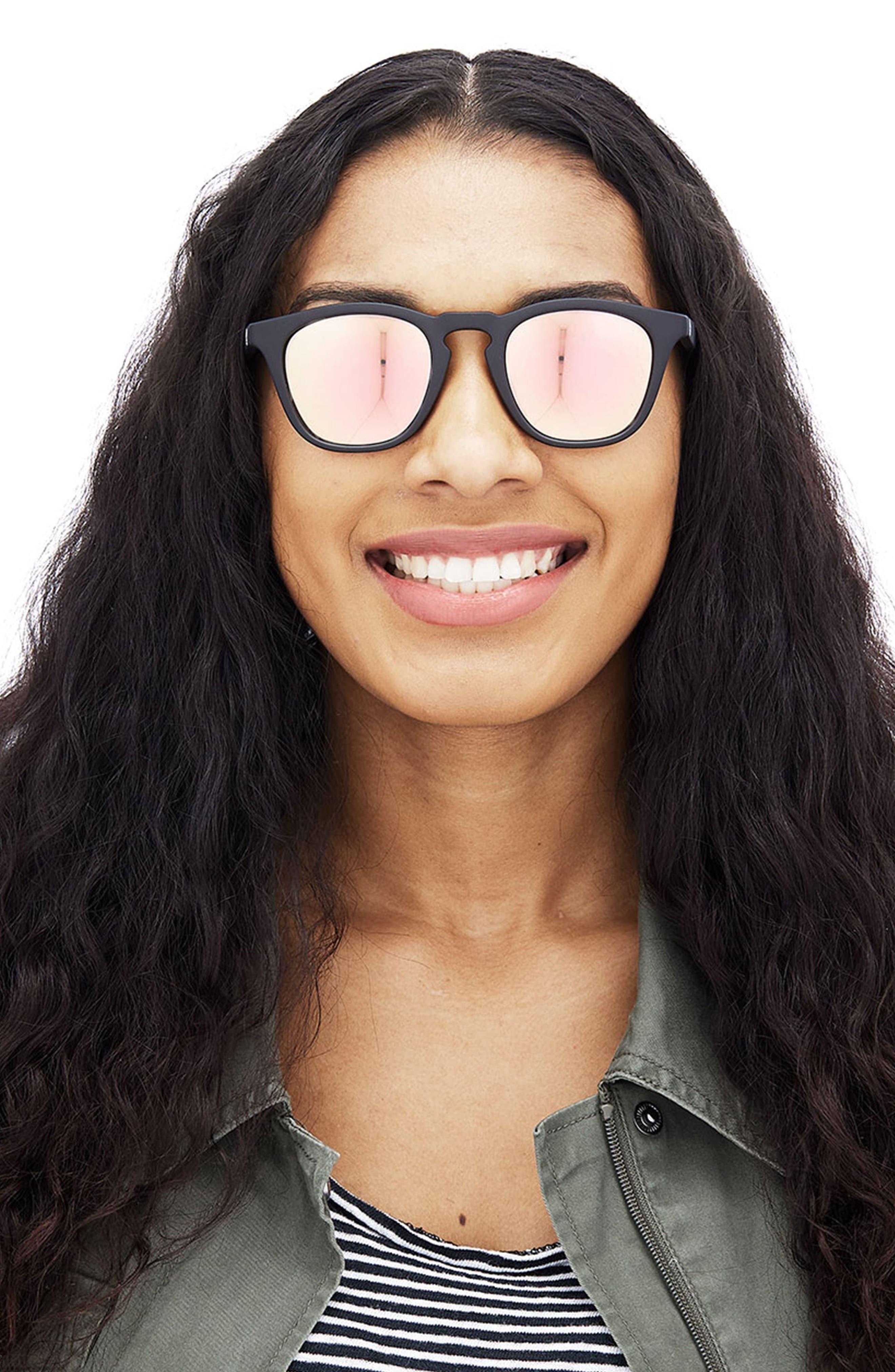 SUNSKI,                             Portola 47mm Polarized Sunglasses,                             Alternate thumbnail 5, color,                             TORTOISE AQUA
