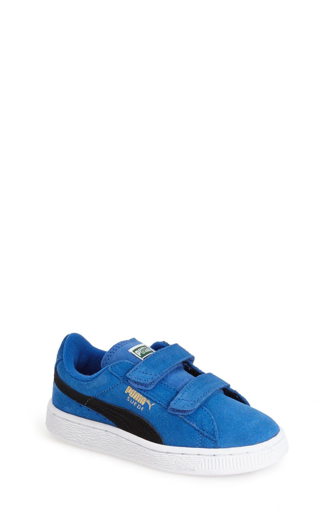 Suede Sneaker,                             Main thumbnail 5, color,