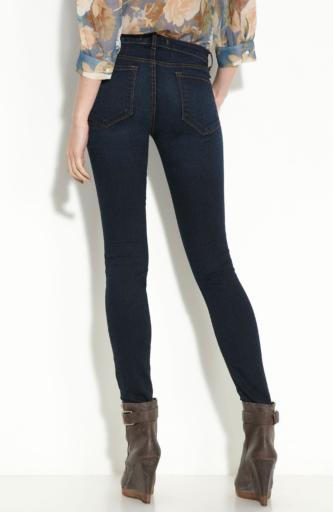 '811' Ankle Skinny Jeans,                             Alternate thumbnail 13, color,