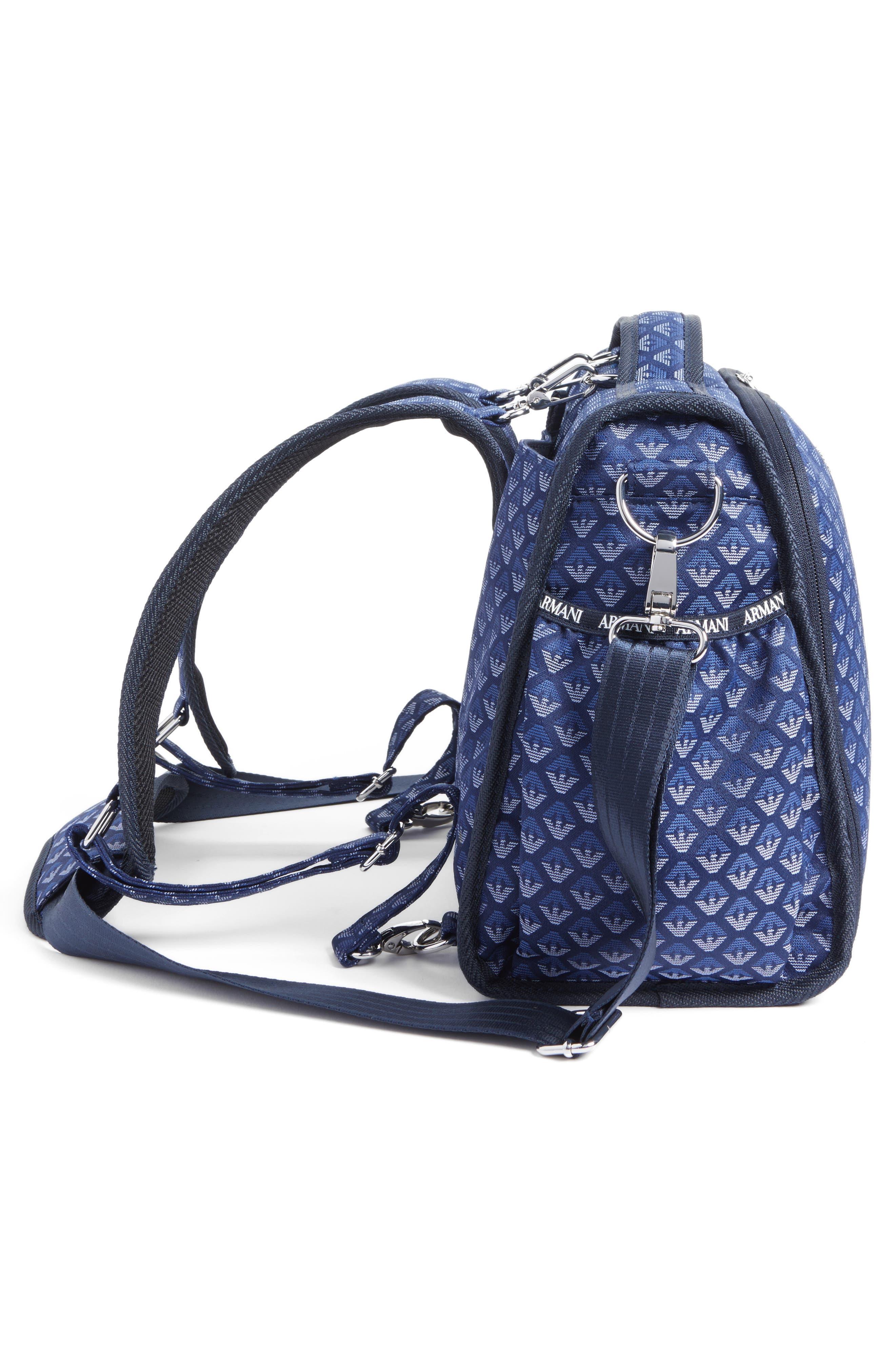 Diaper Bag,                             Alternate thumbnail 4, color,                             NAVY BLUE