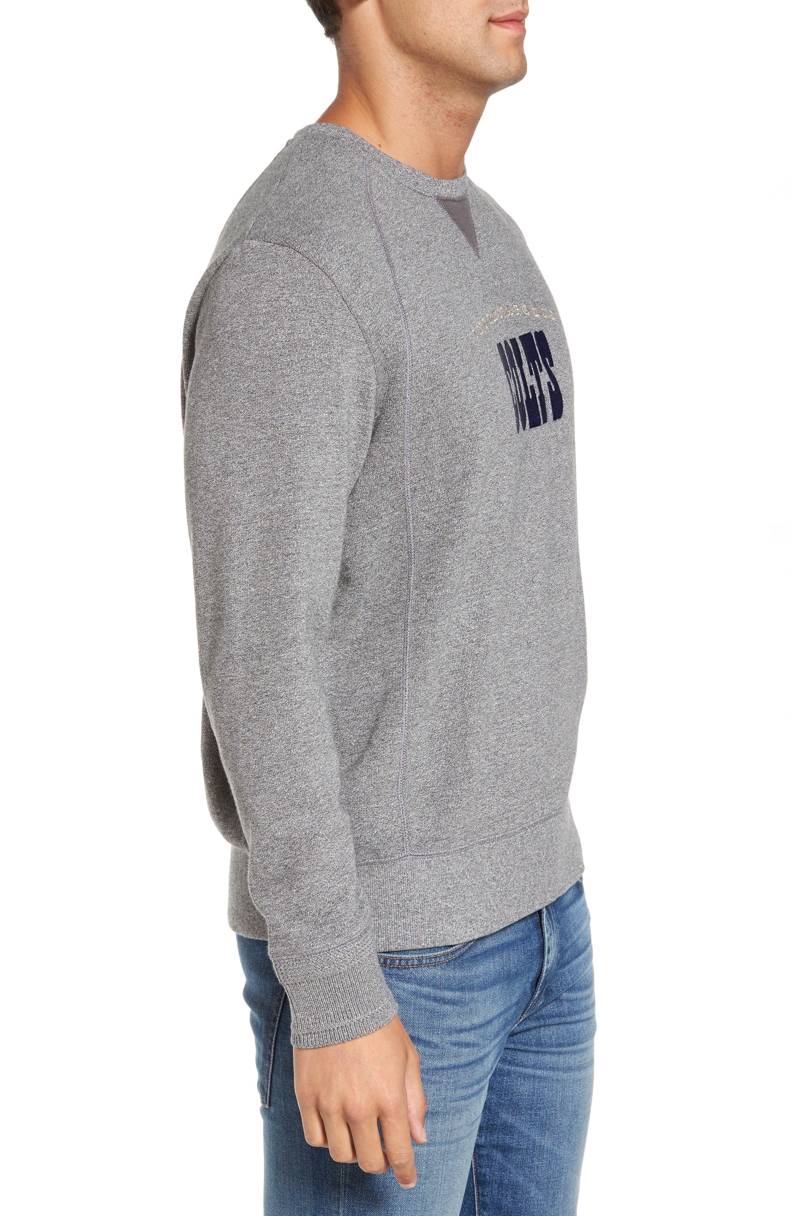 NFL Stitch of Liberty Embroidered Crewneck Sweatshirt,                             Alternate thumbnail 73, color,