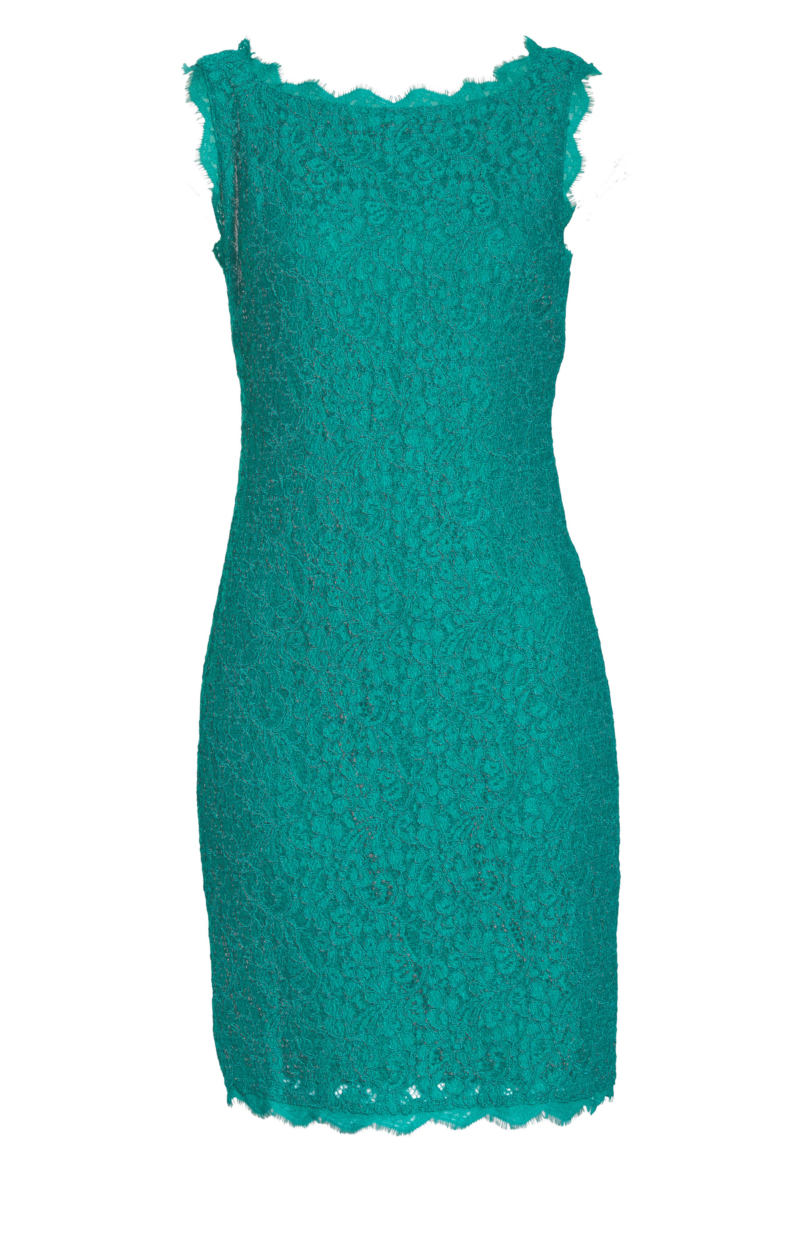 Boatneck Lace Sheath Dress,                             Alternate thumbnail 153, color,