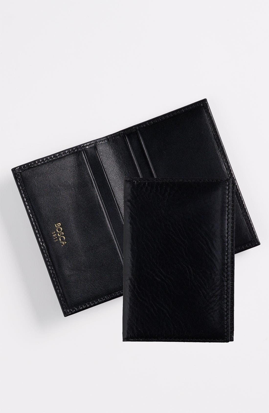 Calling Card Case,                         Main,                         color, BLACK