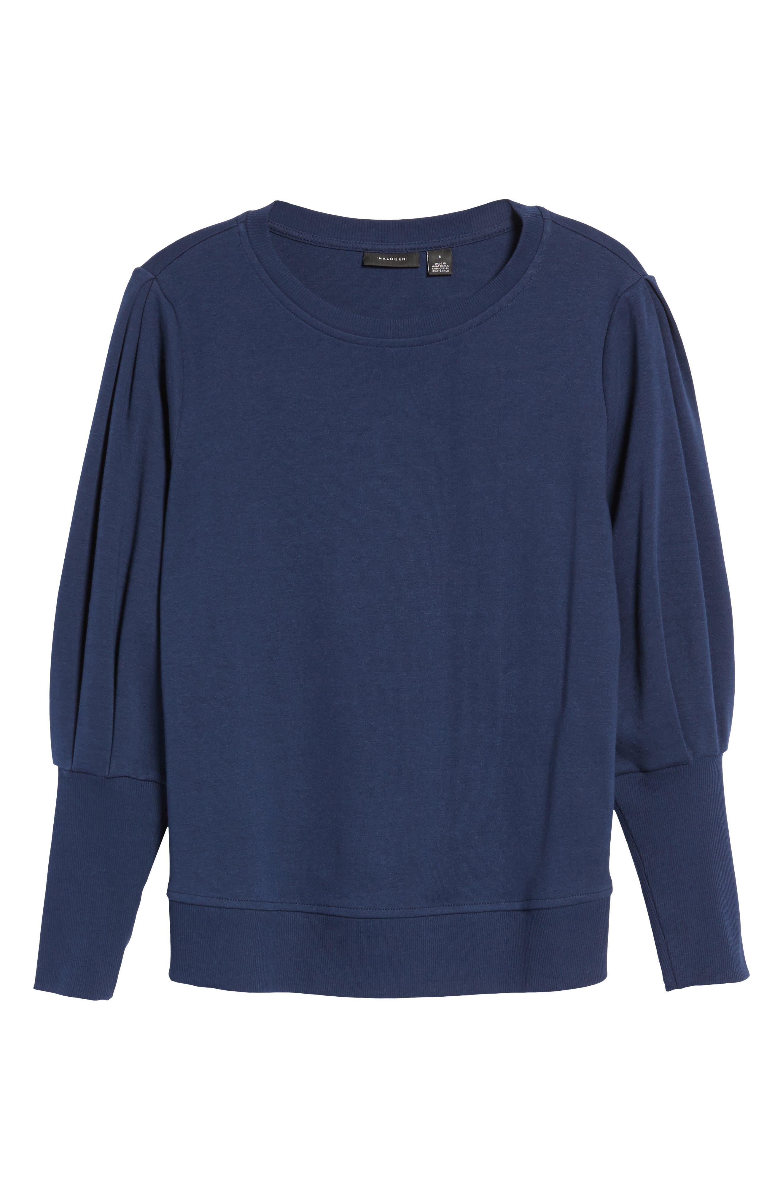 Blouson Sleeve Sweatshirt,                             Alternate thumbnail 29, color,