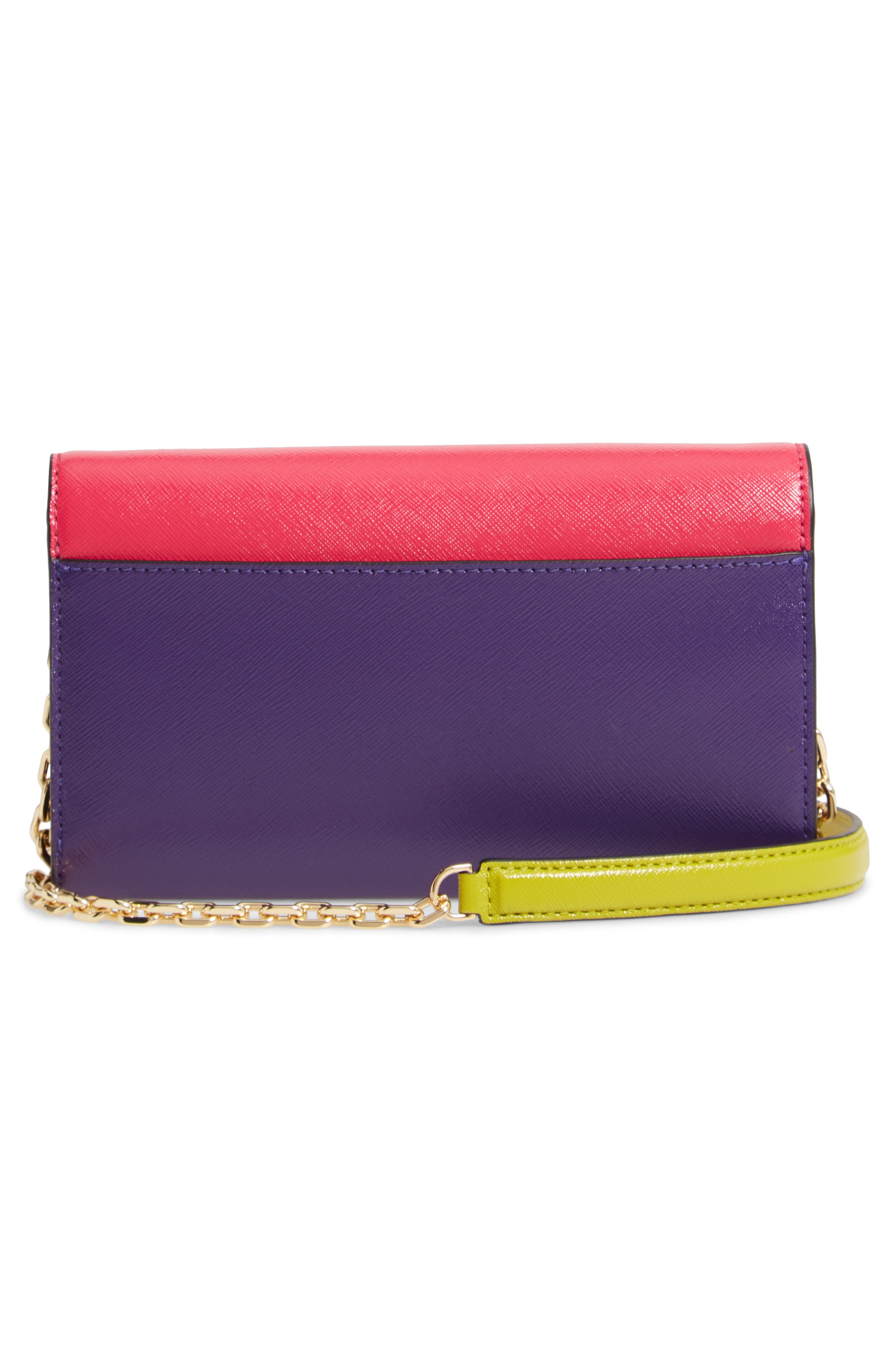 Snapshot Leather Wallet on a Chain,                             Alternate thumbnail 31, color,