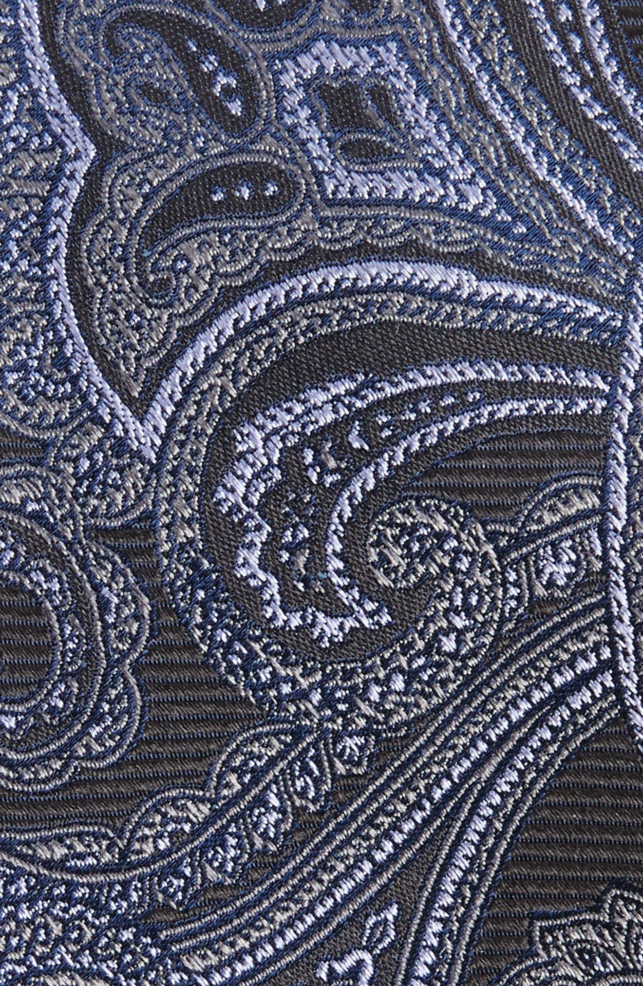 Avalon Paisley Silk Tie,                             Alternate thumbnail 7, color,