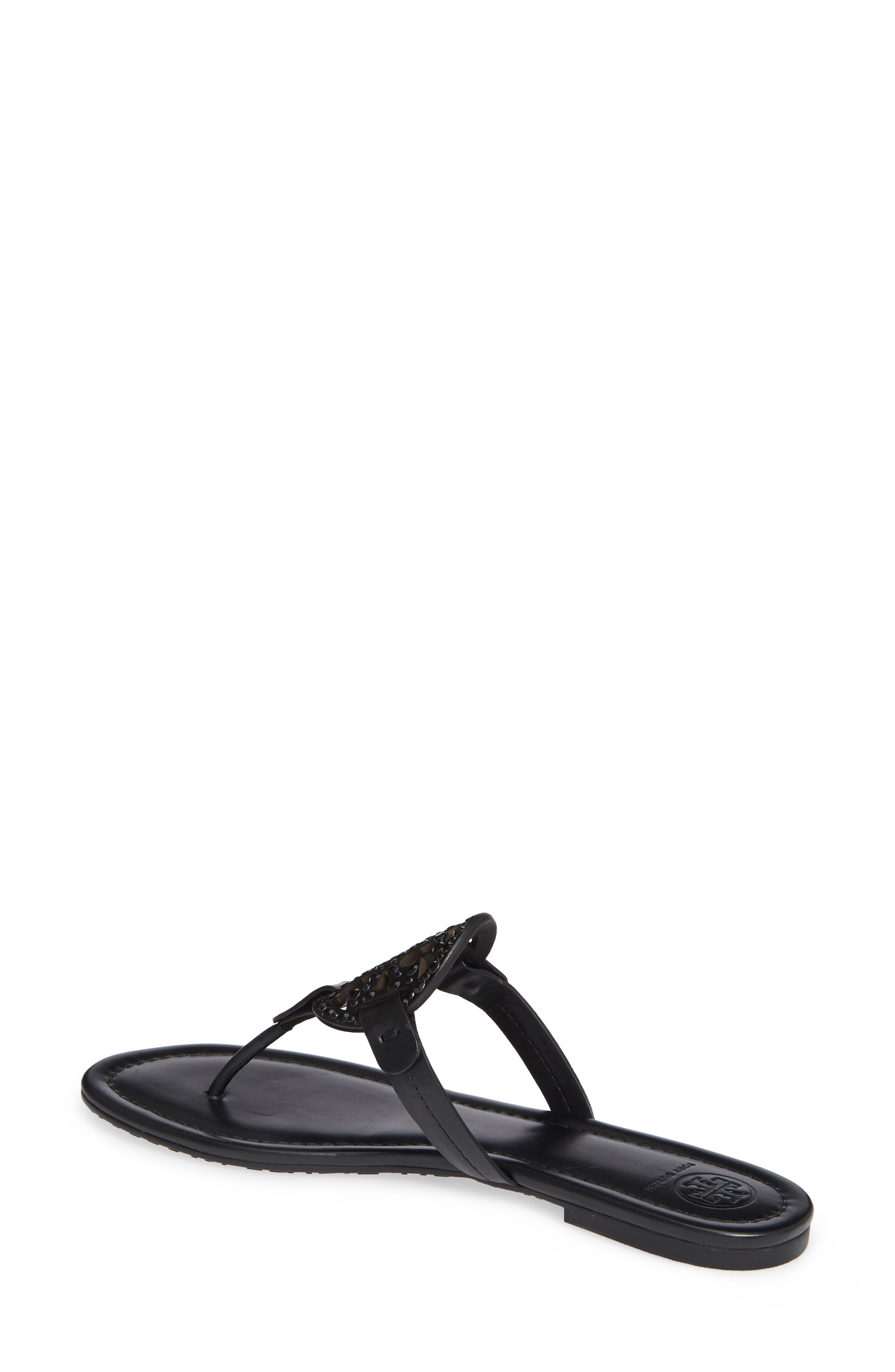Miller Embellished Sandal,                             Alternate thumbnail 2, color,                             PERFECT BLACK