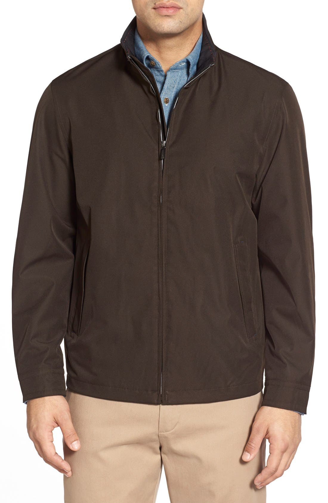 Waterproof & Windproof Bomber,                         Main,                         color,
