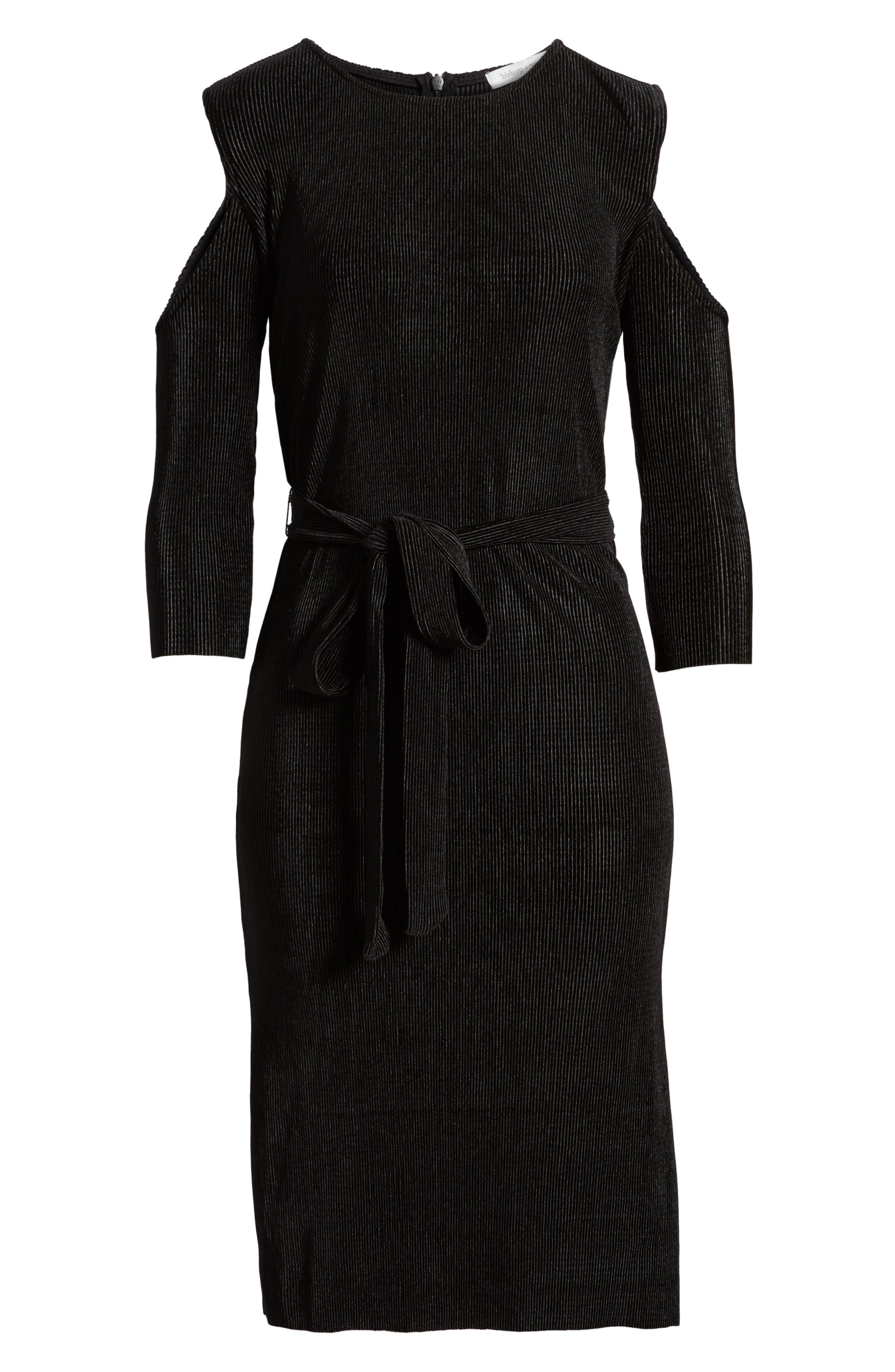 Bishop + Young Sasha Cold Shoulder Dress,                             Alternate thumbnail 6, color,