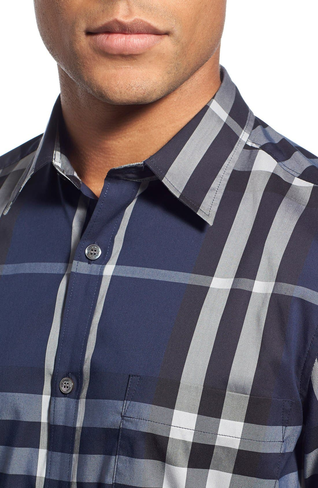 Nelson Check Sport Shirt,                             Alternate thumbnail 87, color,