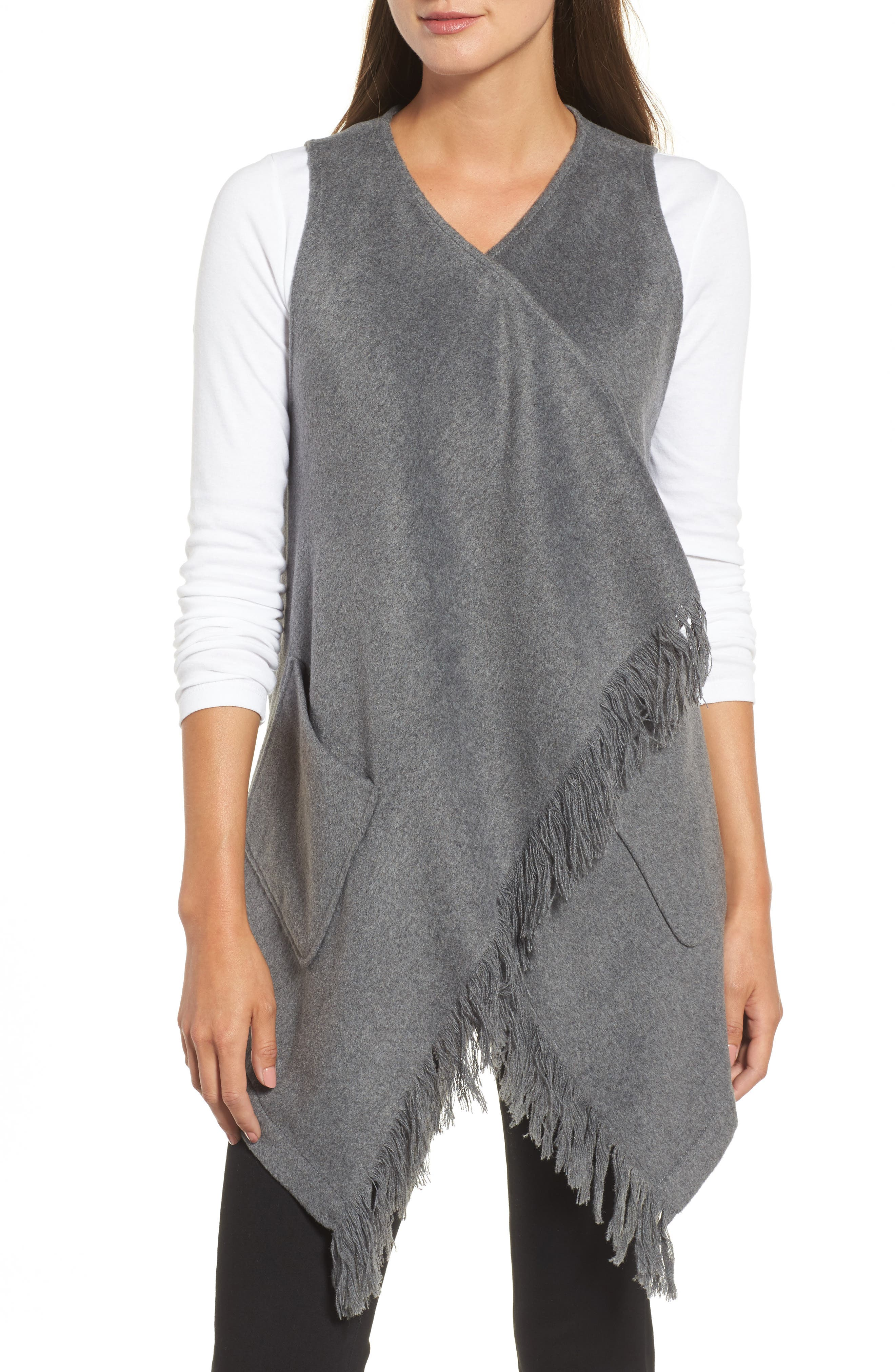 Fringe Vest,                             Alternate thumbnail 4, color,                             099