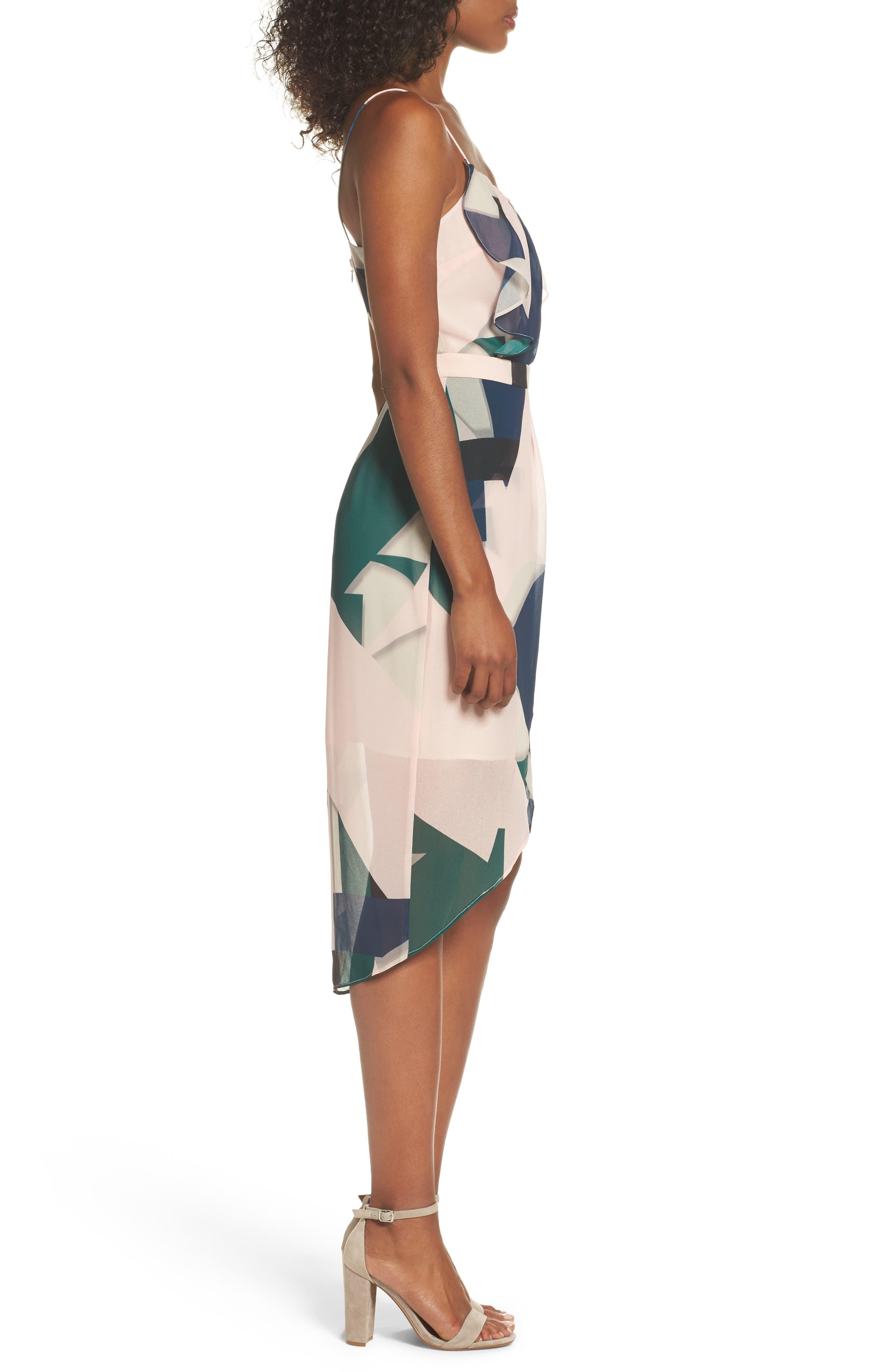 Tahiti Sheath Dress,                             Alternate thumbnail 3, color,                             650