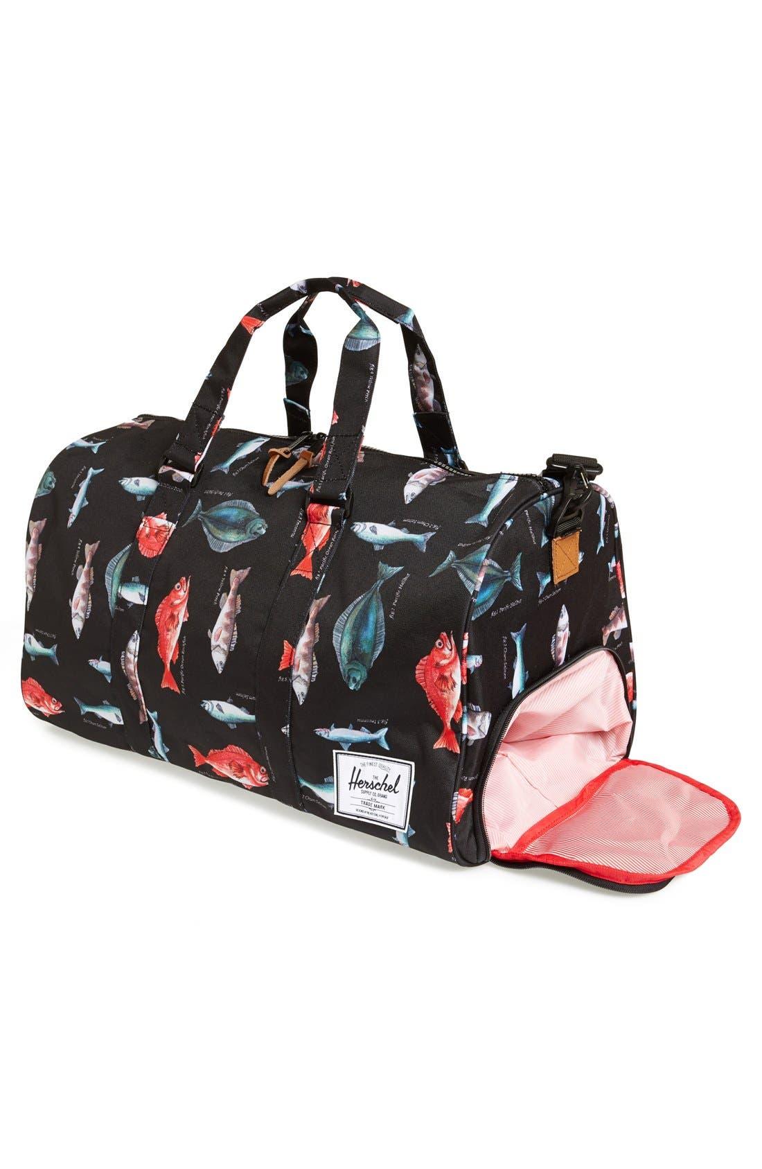 'Novel' Duffel Bag,                             Alternate thumbnail 110, color,