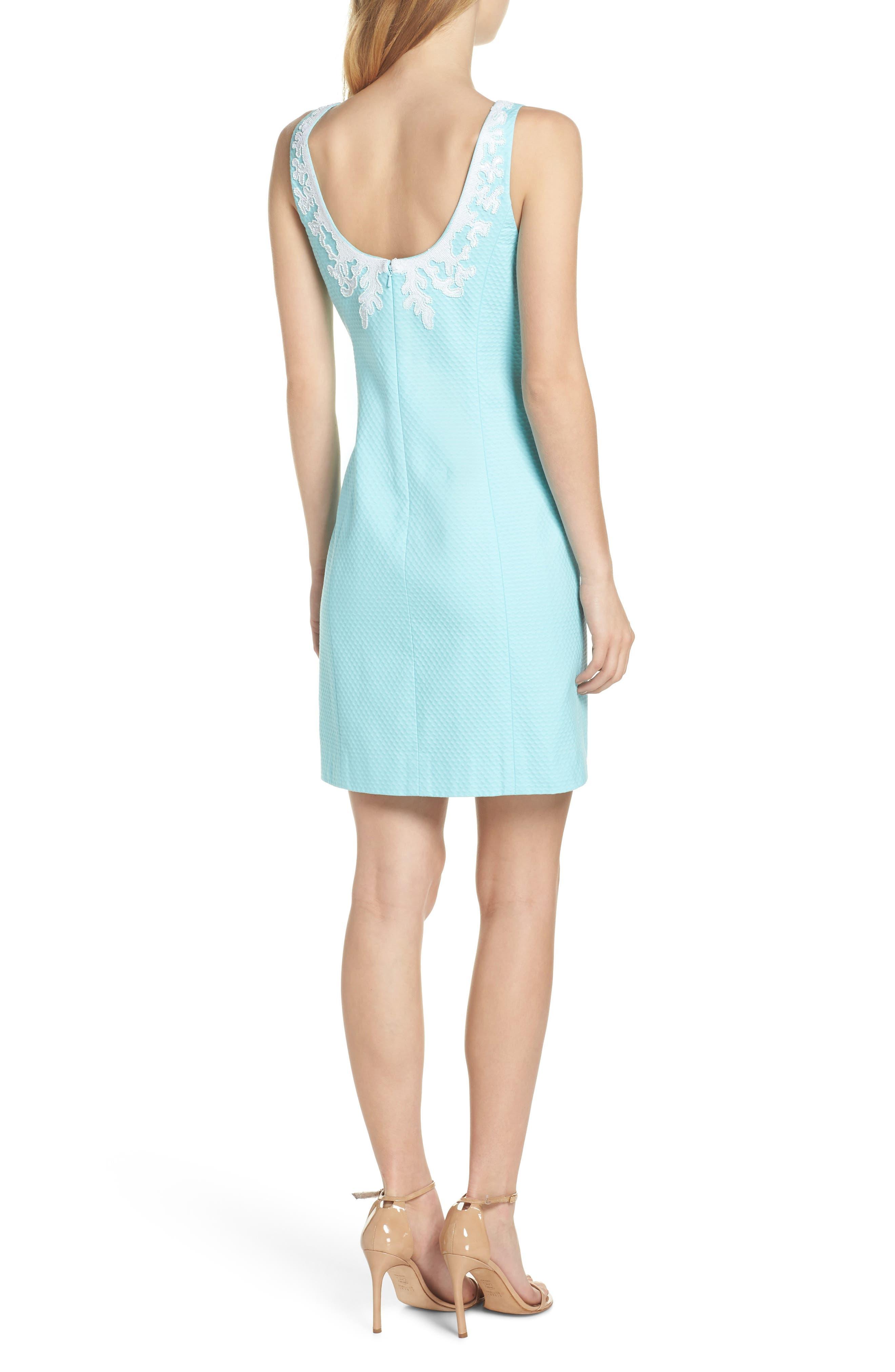Gabby Sheath Dress,                             Alternate thumbnail 2, color,                             400