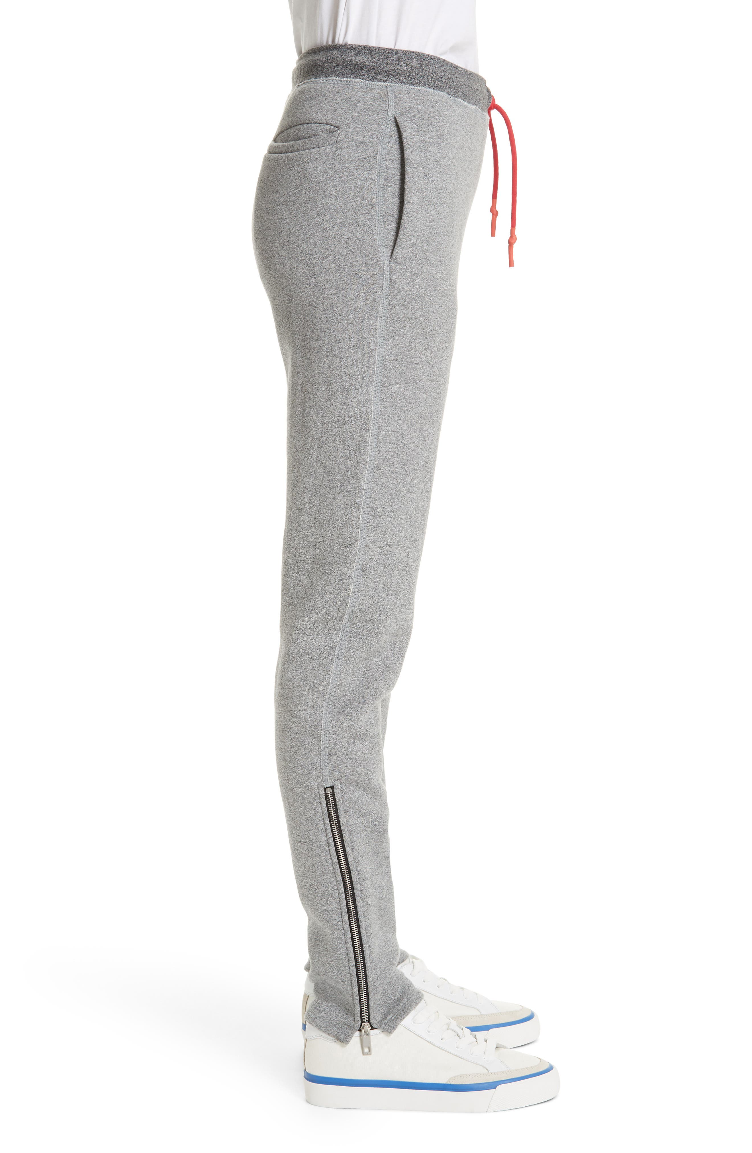 Best Sweatpants,                             Alternate thumbnail 3, color,                             HEATHER GREY
