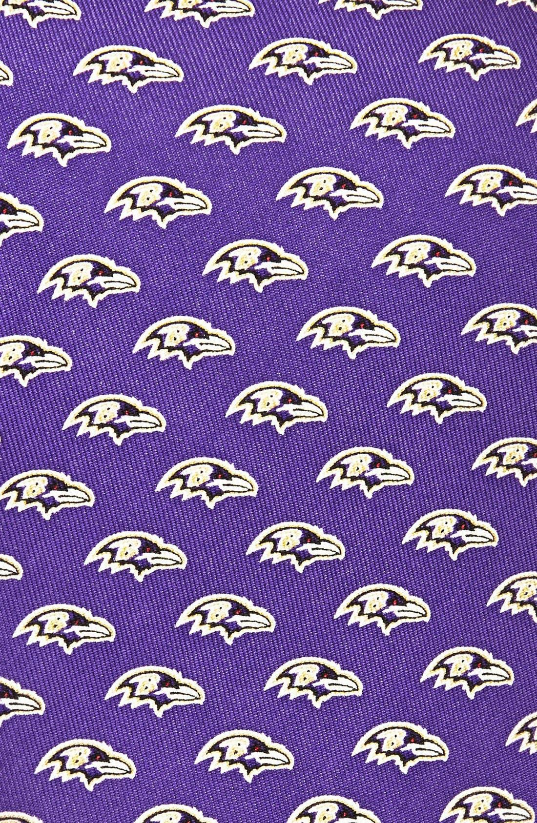 Baltimore Ravens - NFL Woven Silk Tie,                             Alternate thumbnail 2, color,                             525