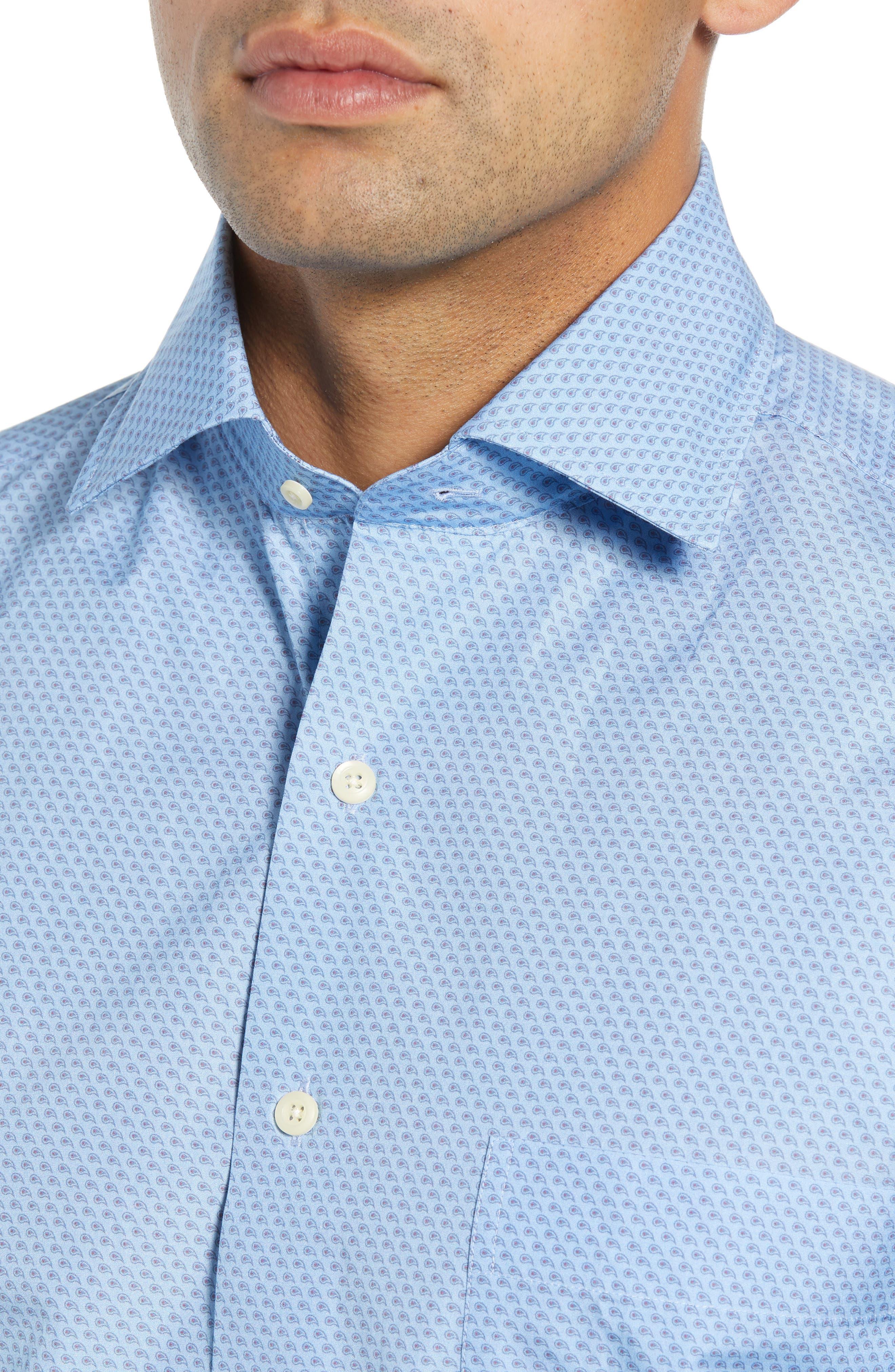 Niblick Regular Fit Sport Shirt,                             Alternate thumbnail 2, color,                             BLUE
