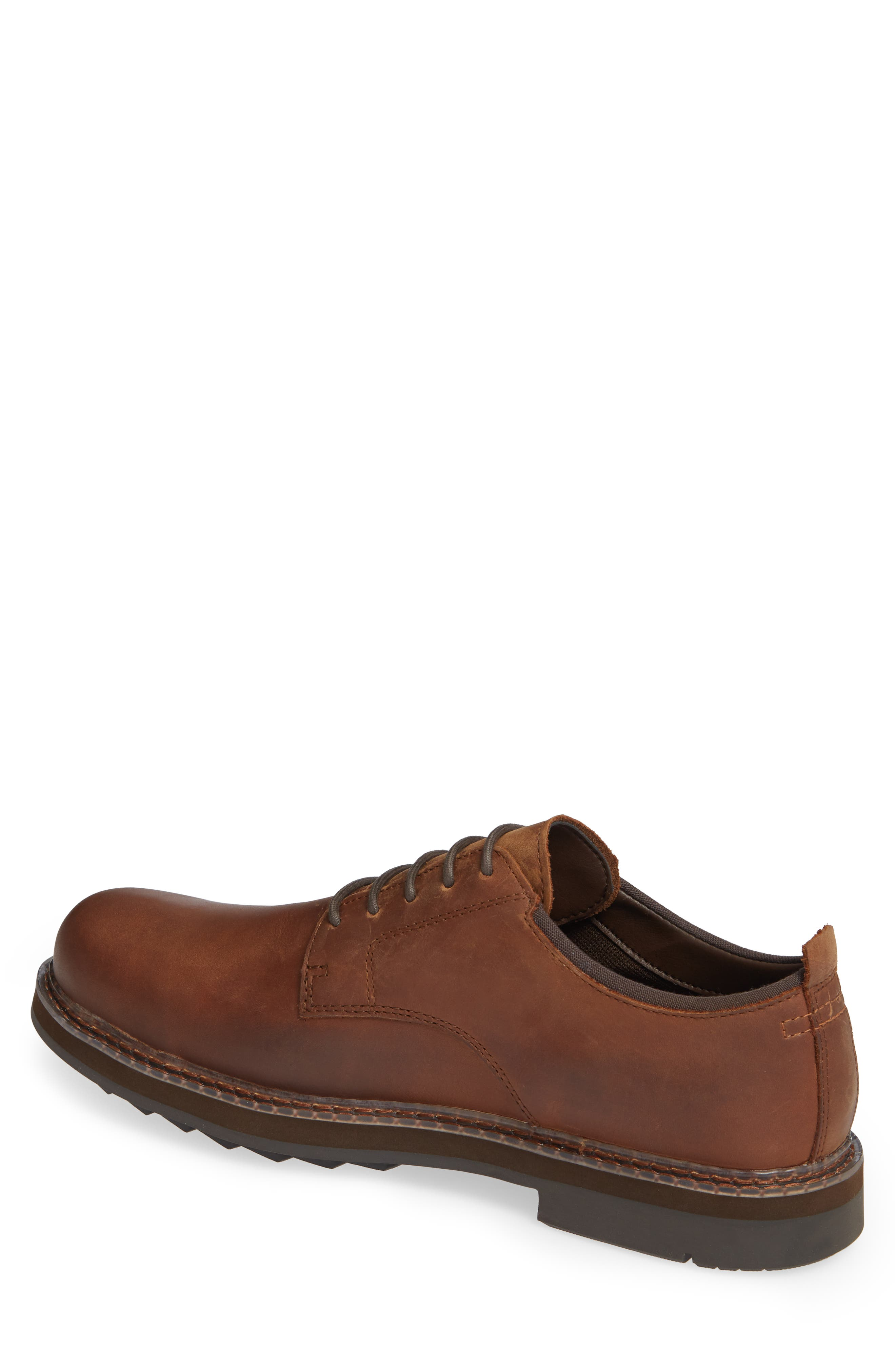 Squall Canyon Waterproof Plain Toe Derby,                             Alternate thumbnail 2, color,                             COPPER LEATHER