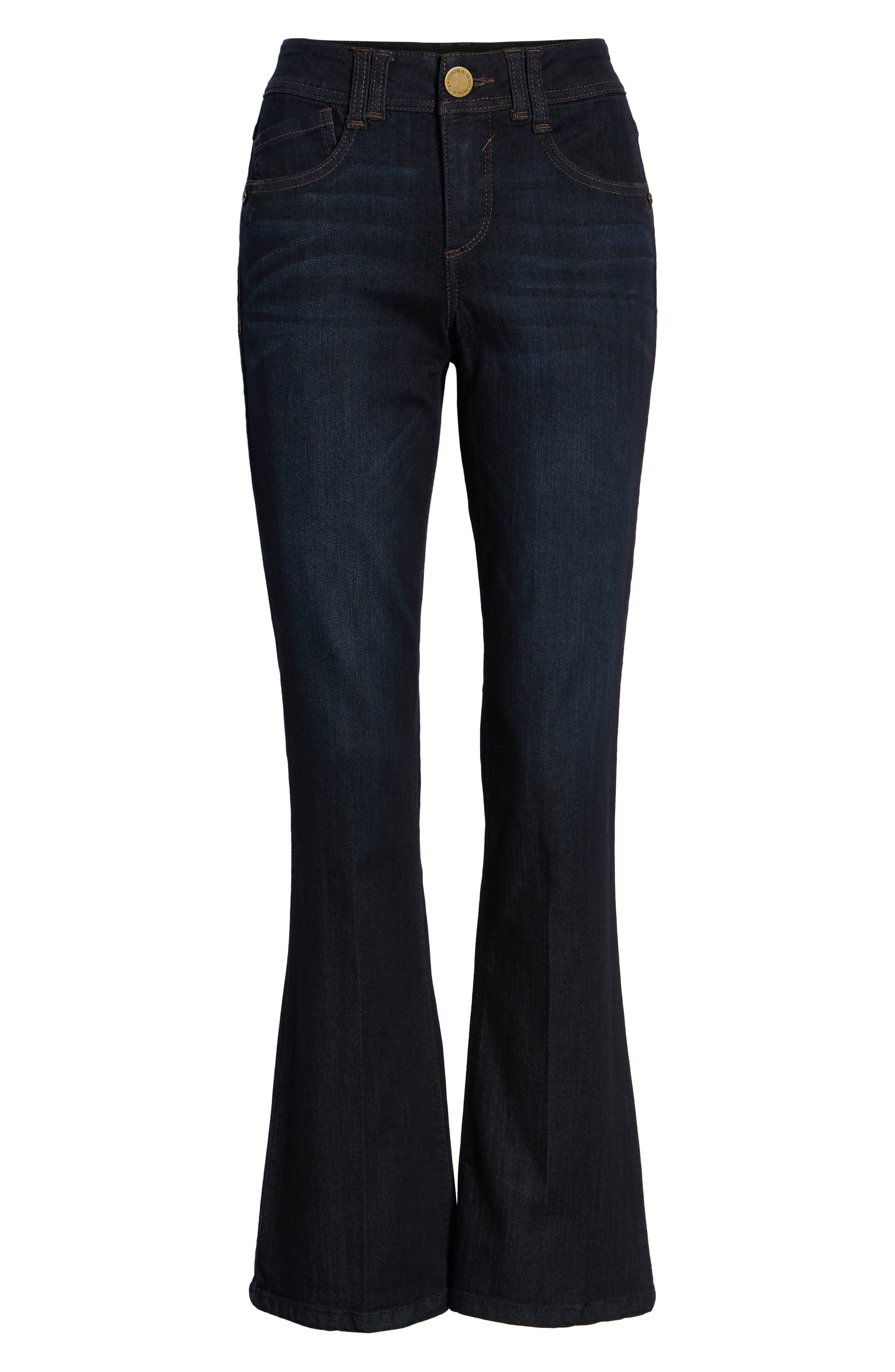 Ab-solution Itty Bitty Bootcut Jeans,                             Alternate thumbnail 7, color,                             INDIGO