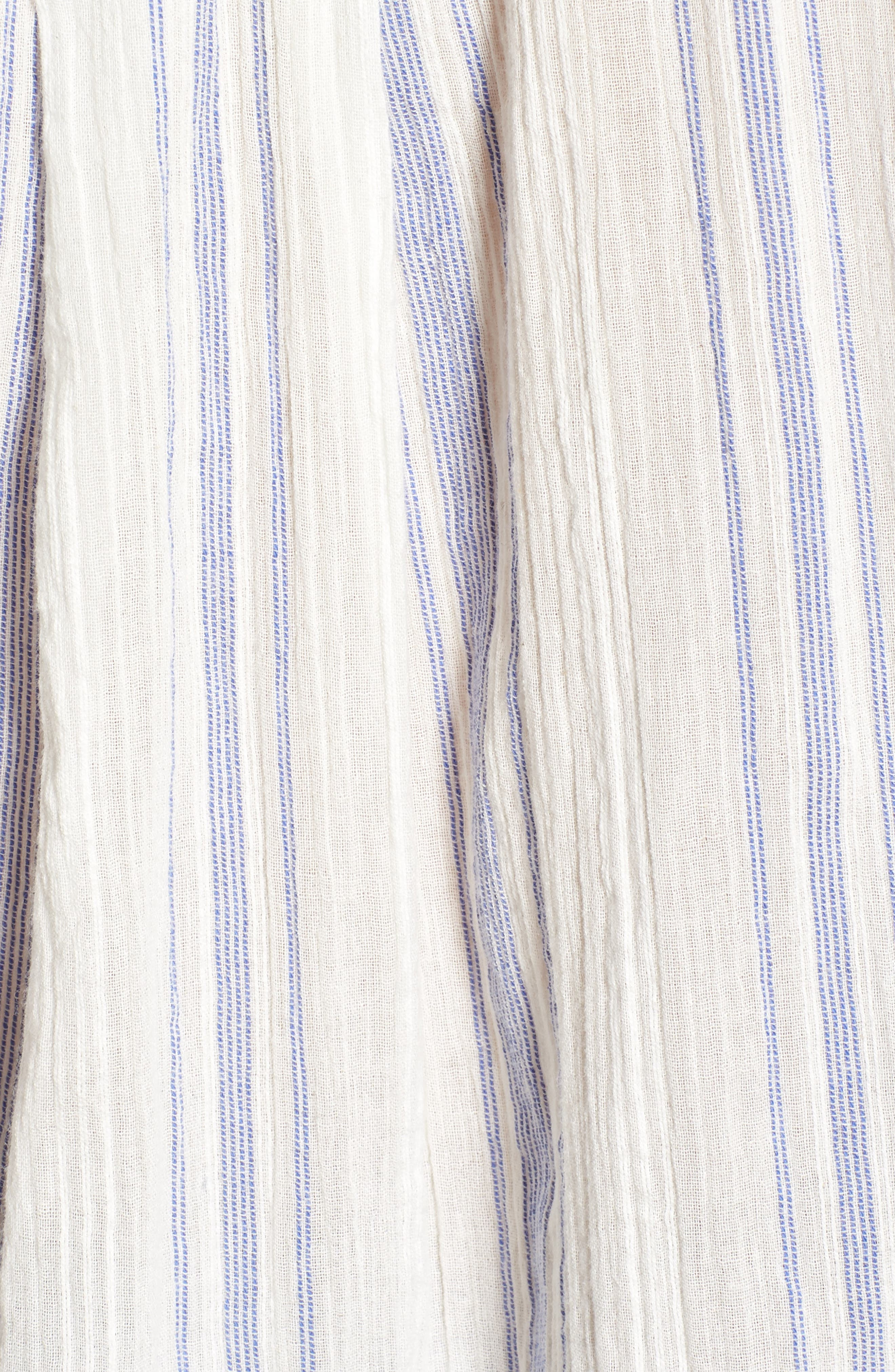 Alani Stripe Woven Shirt,                             Alternate thumbnail 6, color,