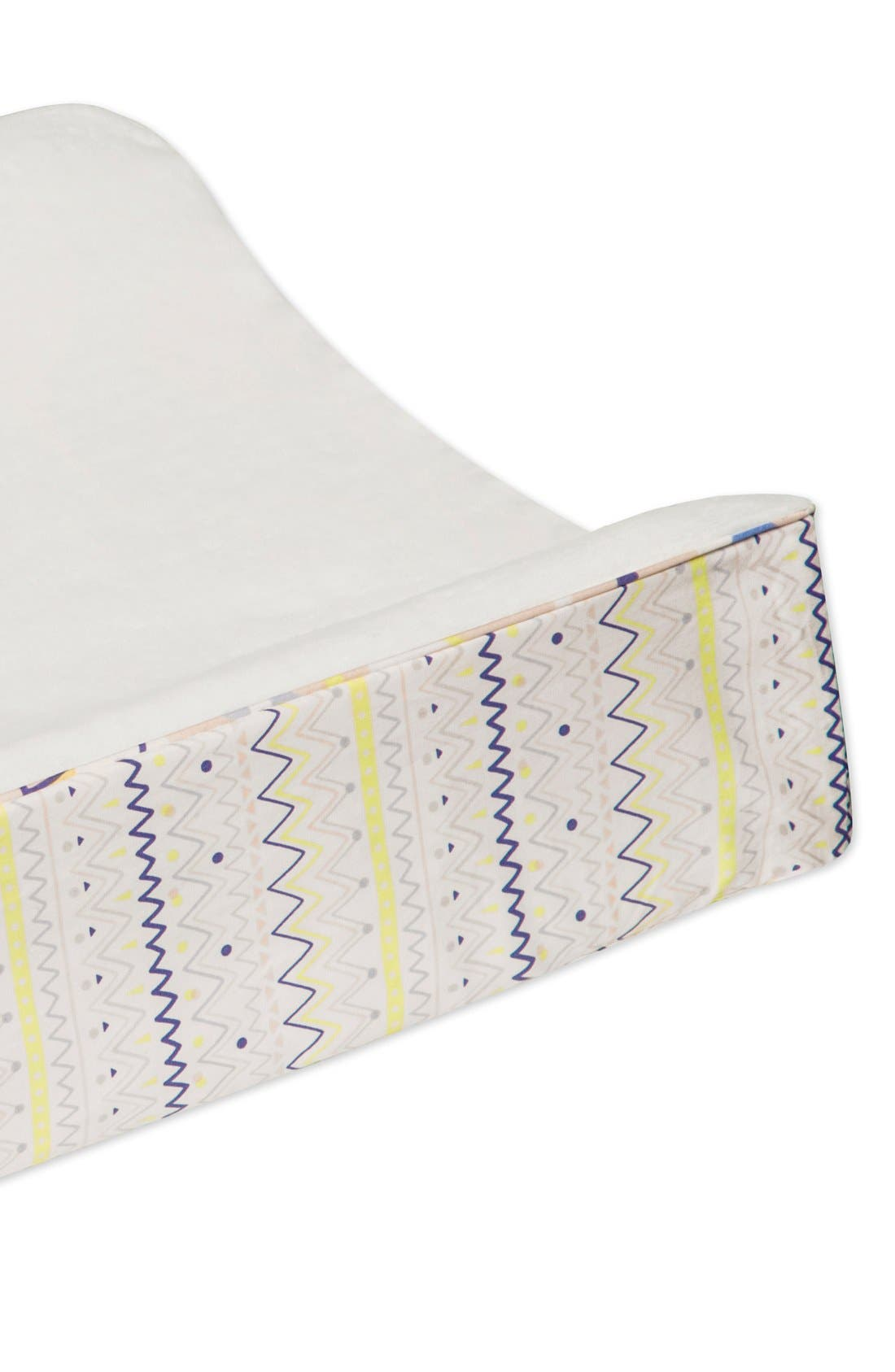 'Desert' Mini Crib Sheet, Changing Pad Cover, Stroller Blanket & Wall Decals,                             Alternate thumbnail 3, color,                             OFF WHITE