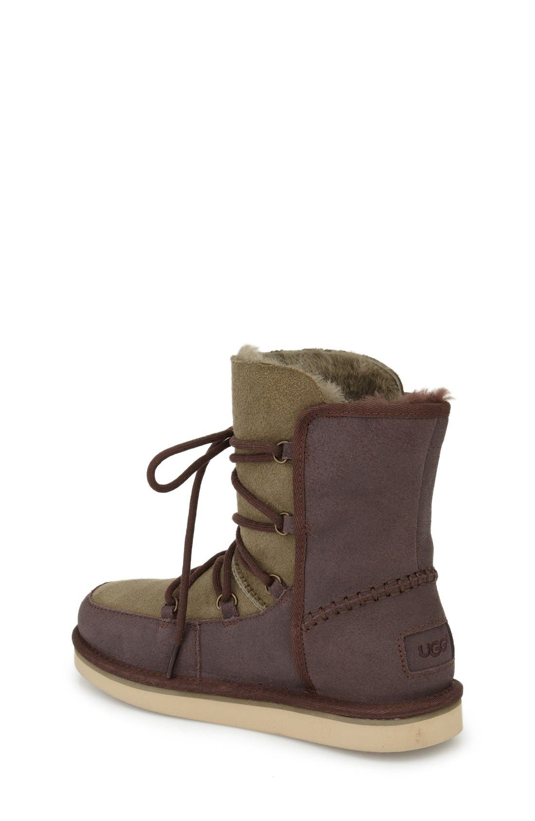 Eliss Water Resistant Suede Boot,                             Alternate thumbnail 11, color,