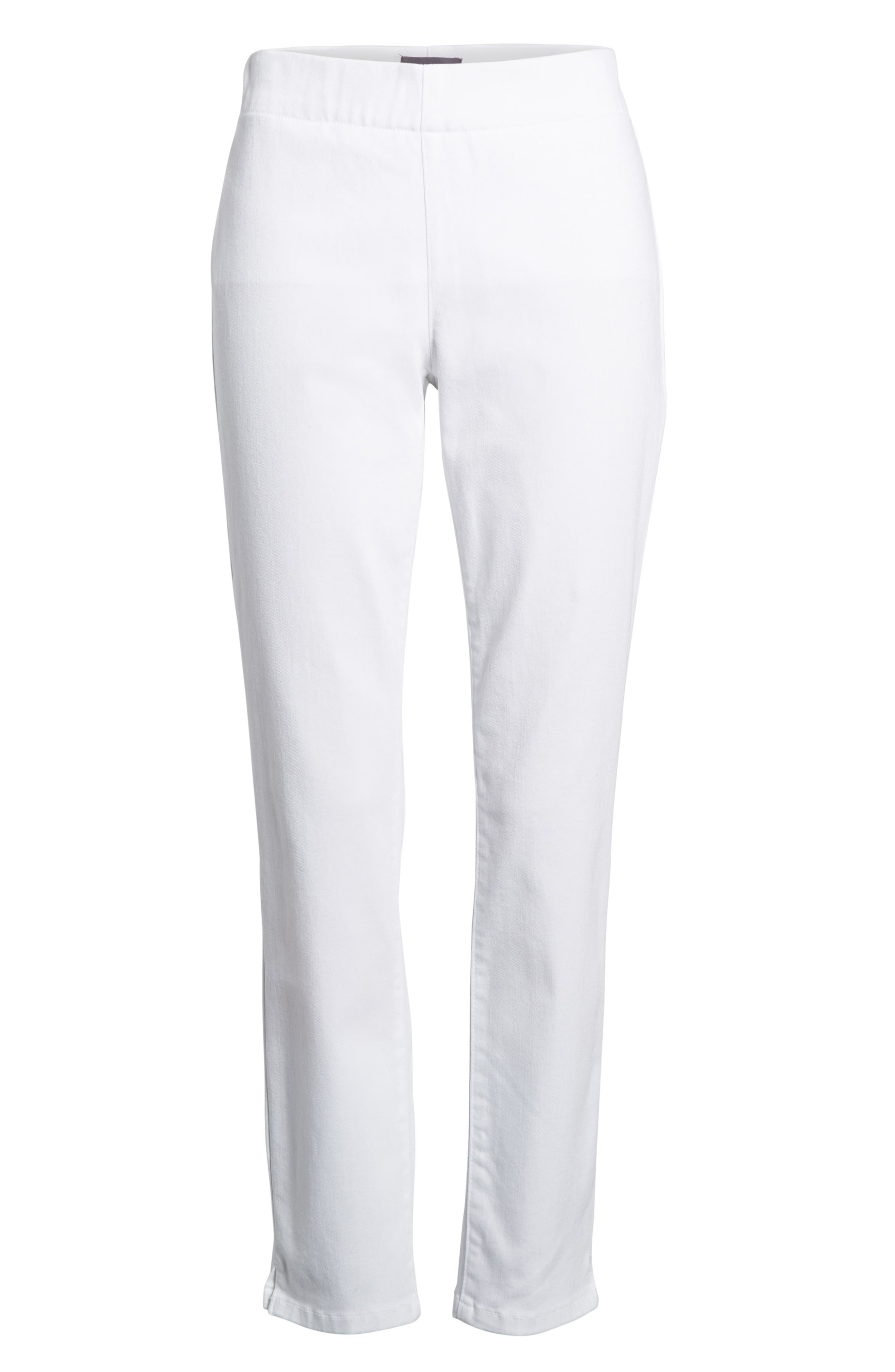 'Millie' Pull-On Stretch Ankle Skinny Jeans,                         Main,                         color, 198
