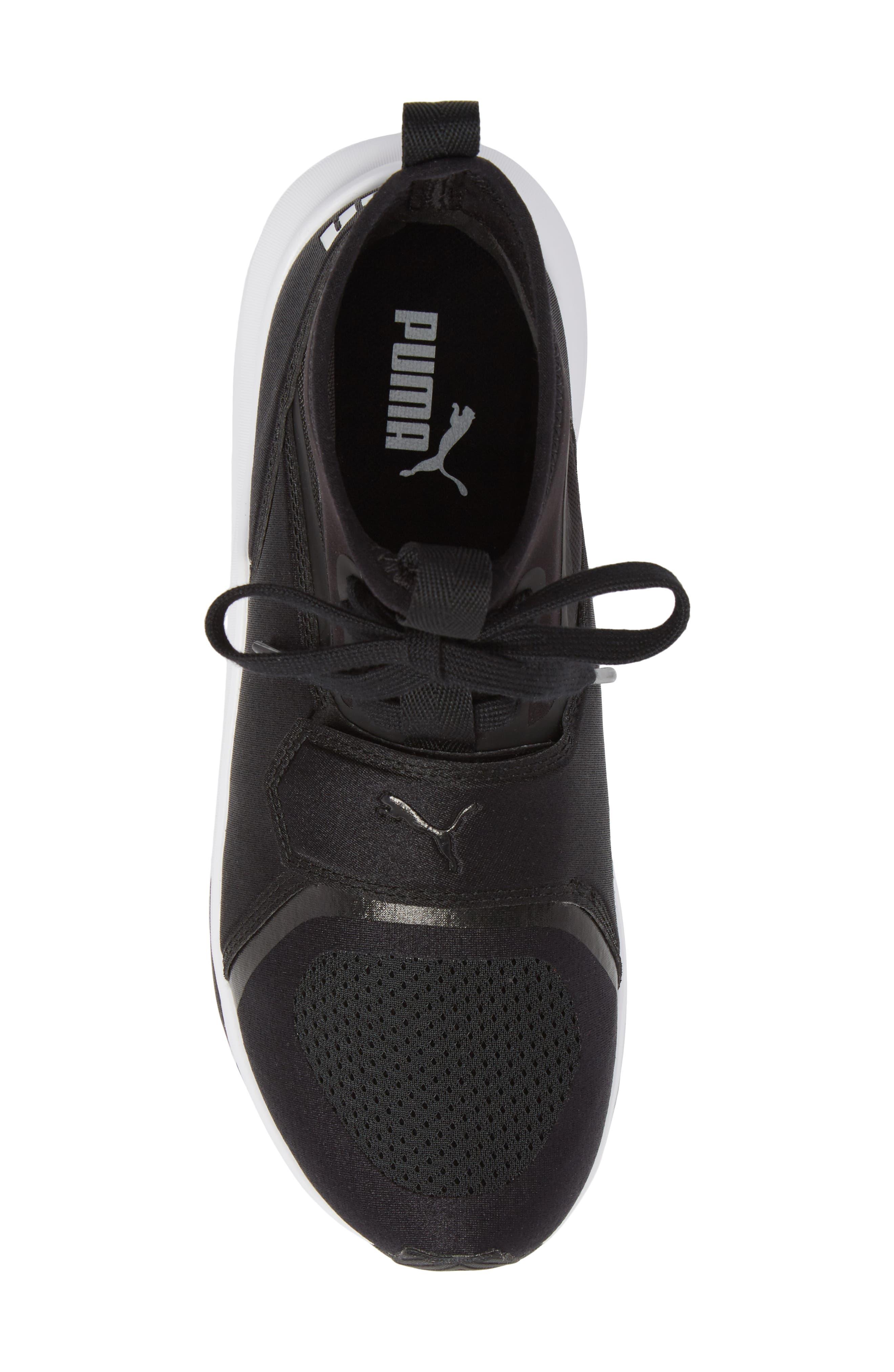 Phenom Jr High Top Sneaker,                             Alternate thumbnail 5, color,                             001
