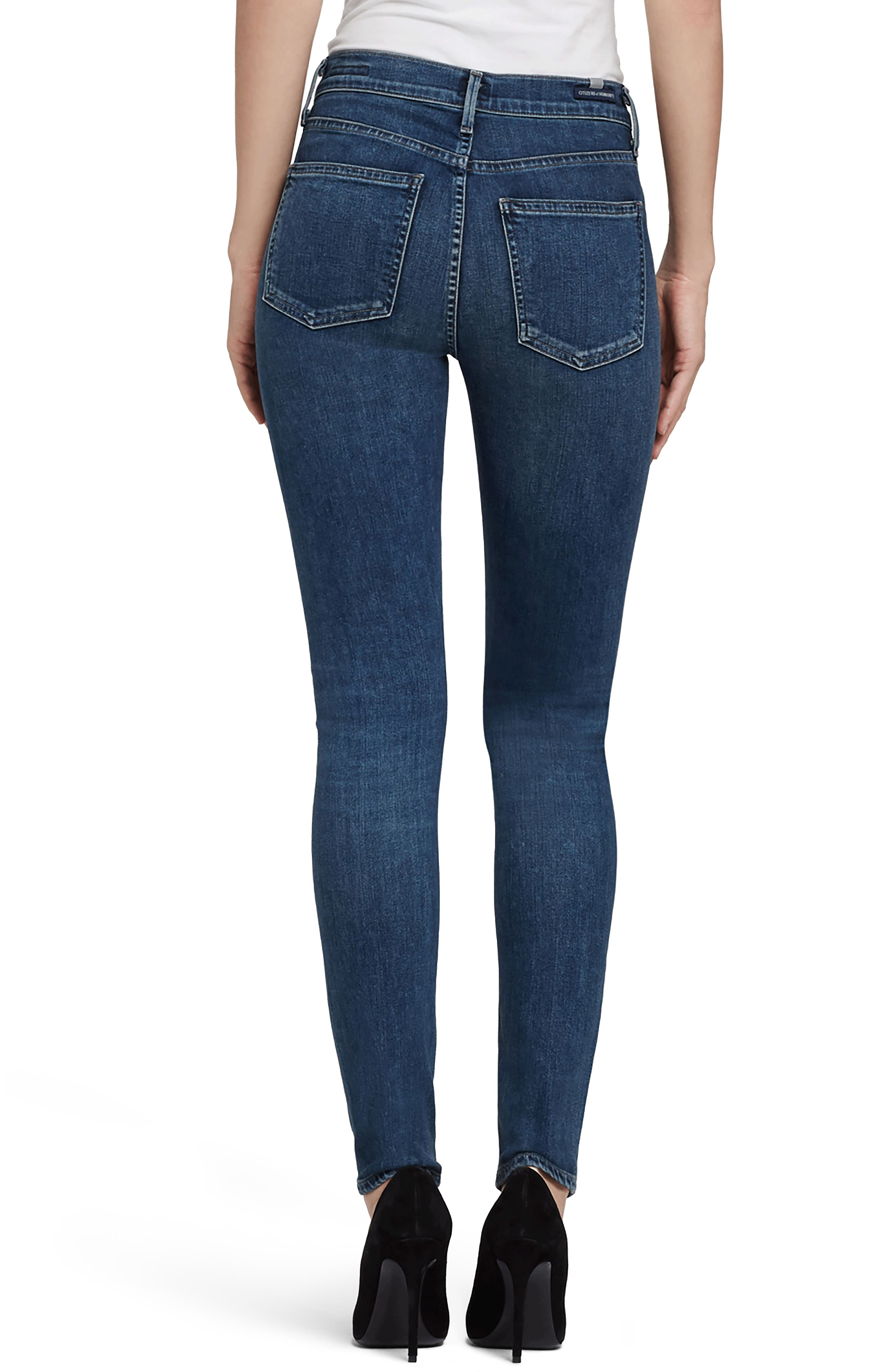 CITIZENS OF HUMANITY,                             Rocket High Waist Skinny Jeans,                             Alternate thumbnail 2, color,                             430