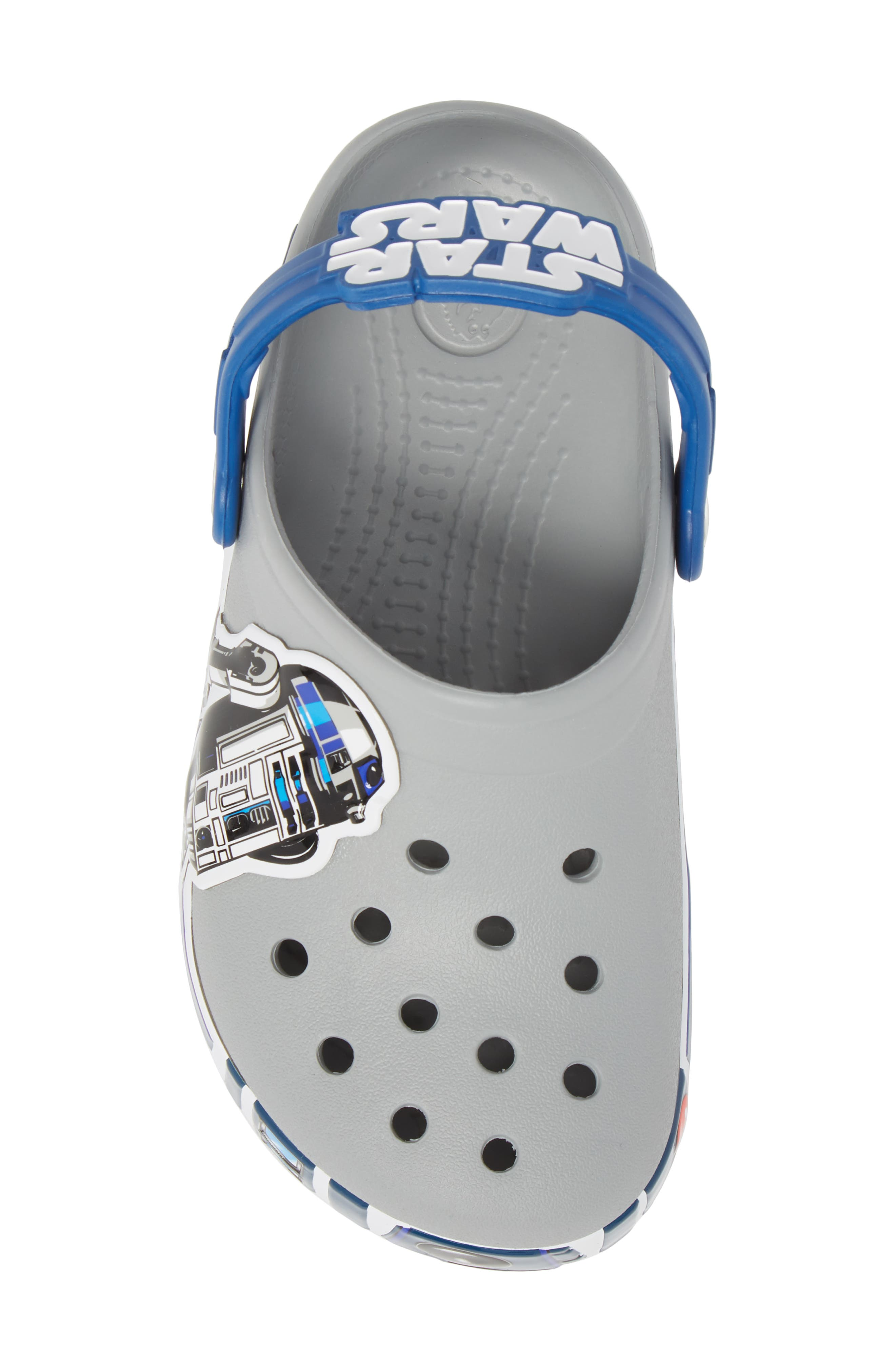 Fun Lab Light-Up Star Wars<sup>®</sup> R2D2<sup>®</sup> Slip-On,                             Alternate thumbnail 5, color,                             025