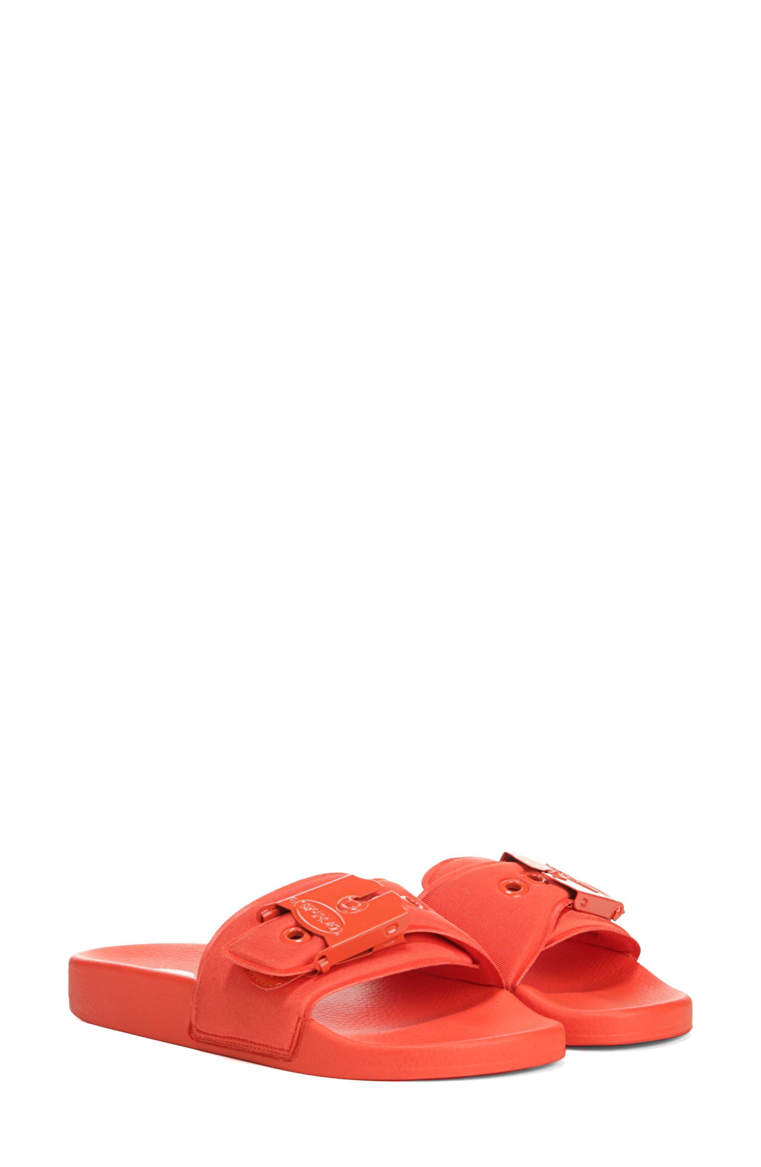 Original Pool Slide Sandal,                         Main,                         color, TIGER LILY