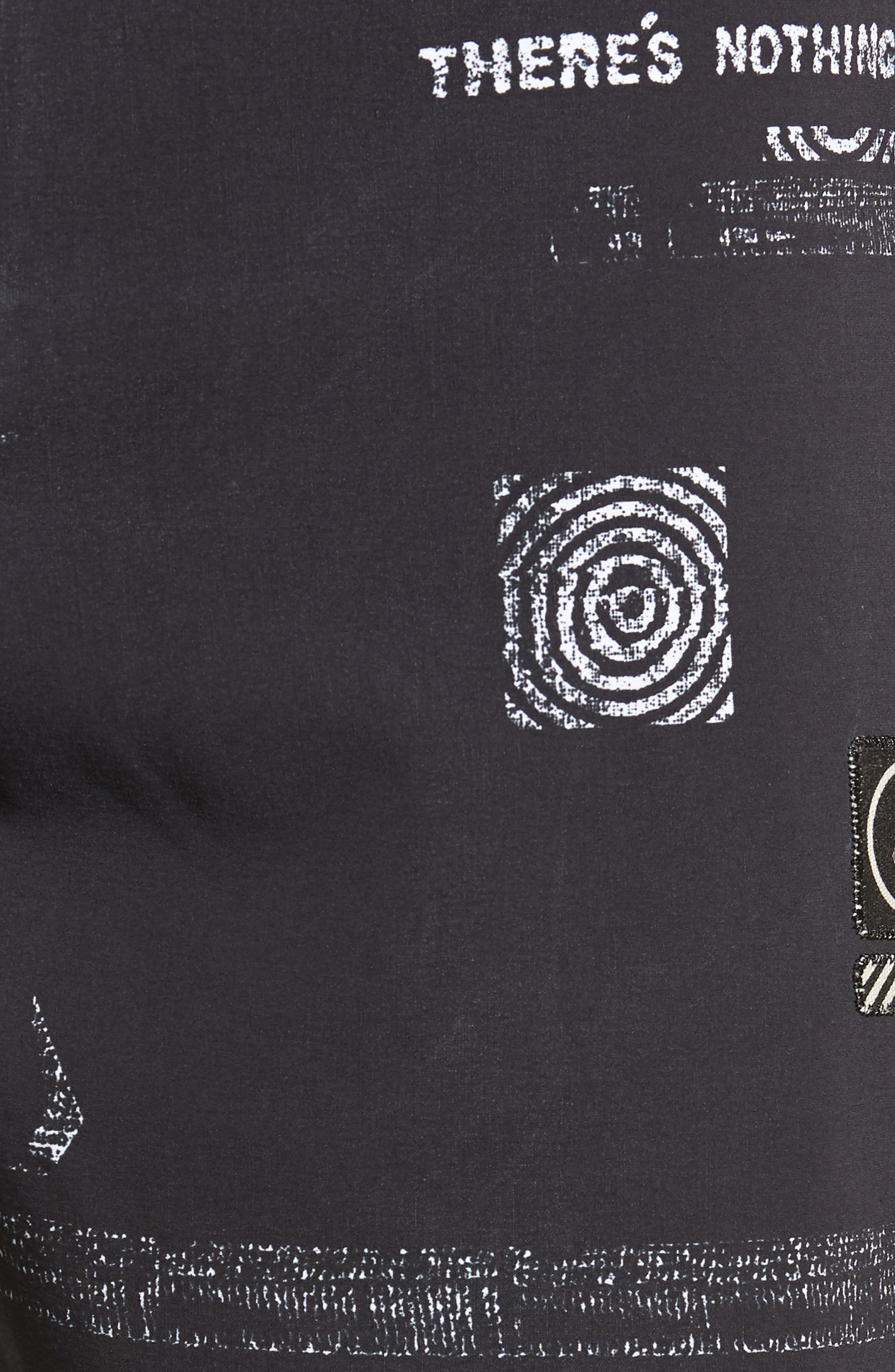 Nothing More Stoney Board Shorts,                             Alternate thumbnail 5, color,                             BLACK WHITE
