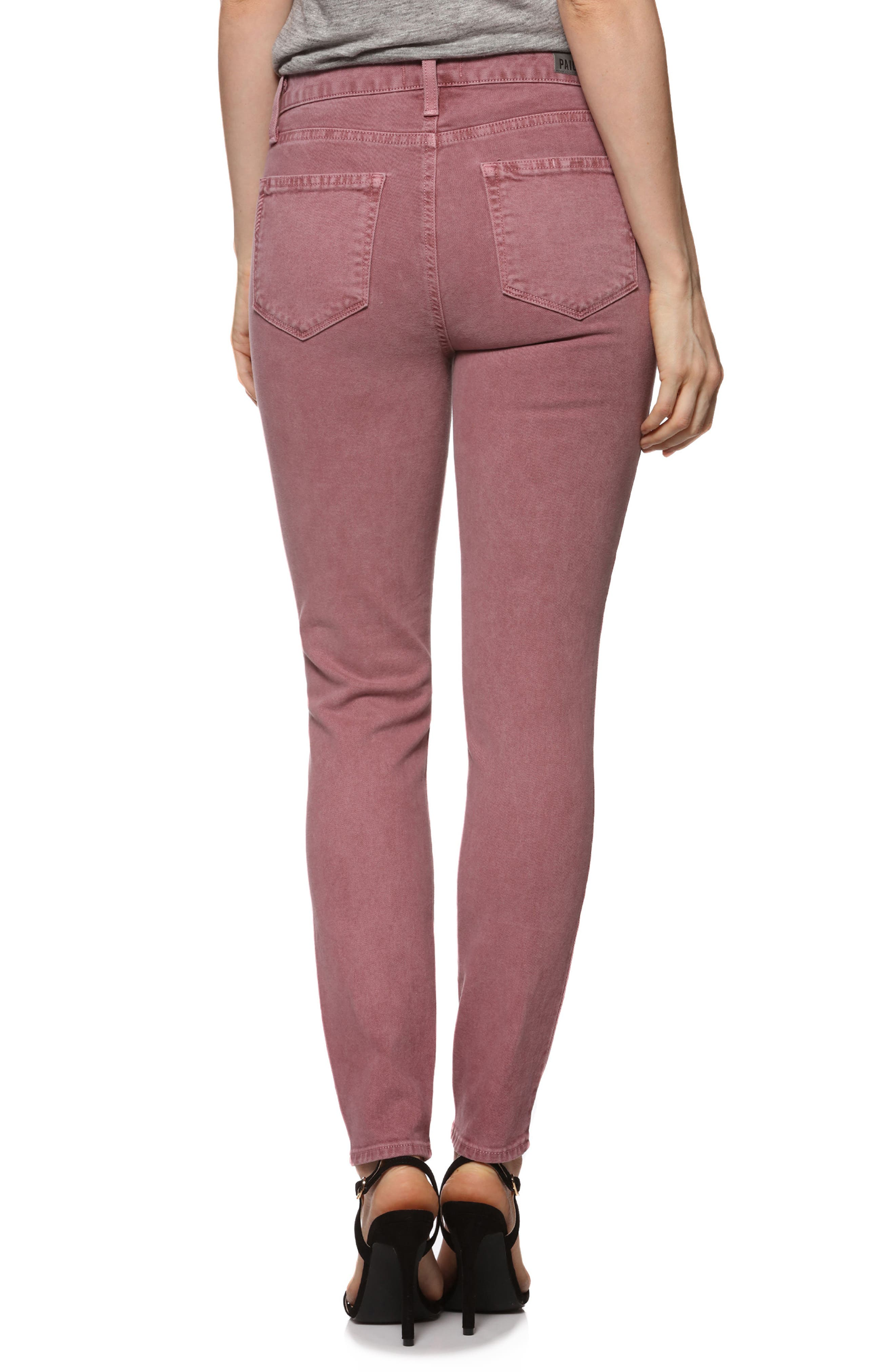 Hoxton High Waist Ankle Ultra Skinny Jeans,                             Alternate thumbnail 2, color,                             650
