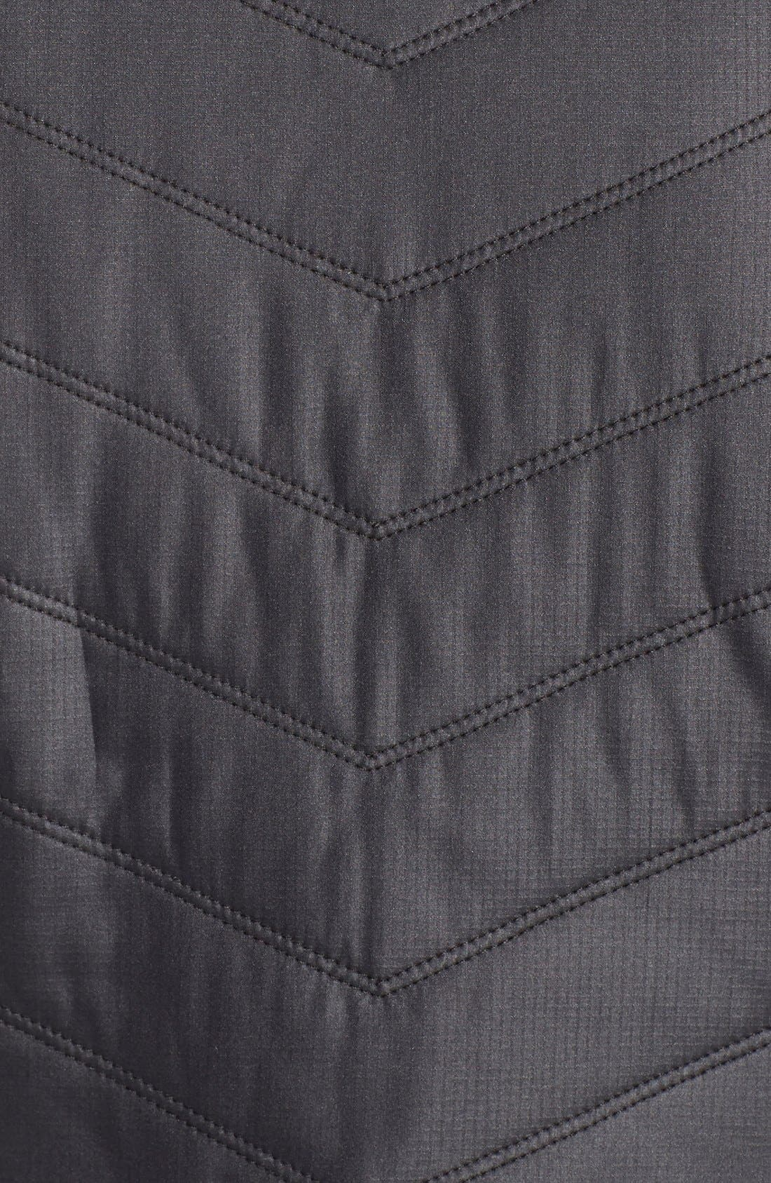 Zelfusion Reflective Quilted Jacket,                             Alternate thumbnail 10, color,                             001