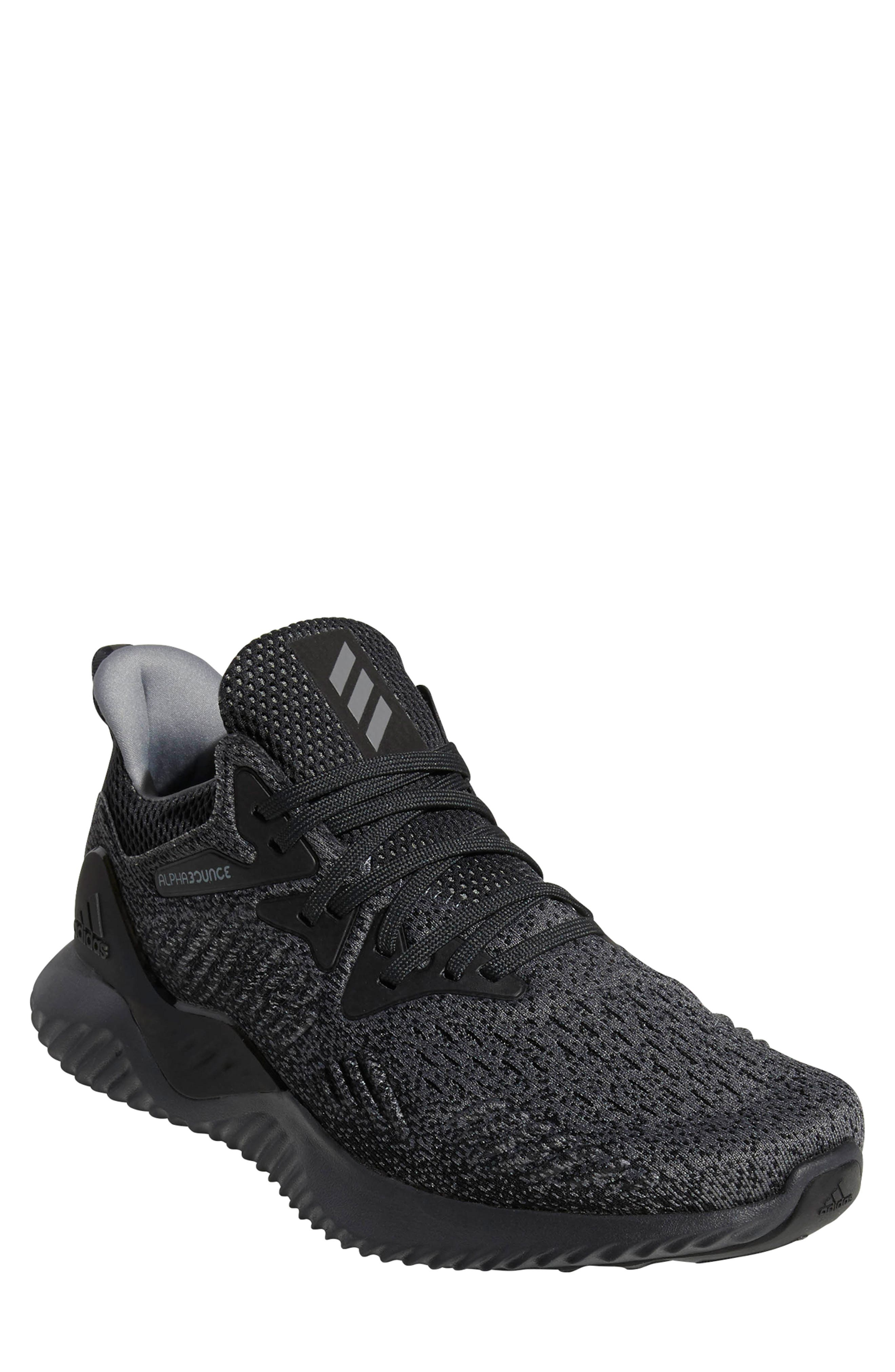 AlphaBounce Beyond Knit Running Shoe,                             Main thumbnail 1, color,                             099