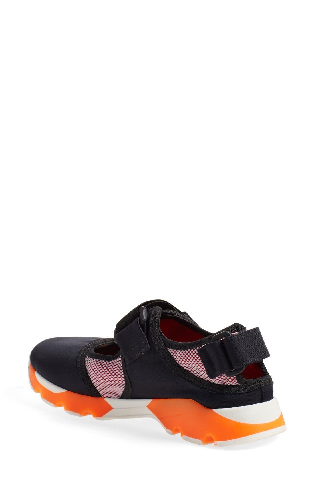 Mary Jane Sneaker,                             Alternate thumbnail 2, color,                             020
