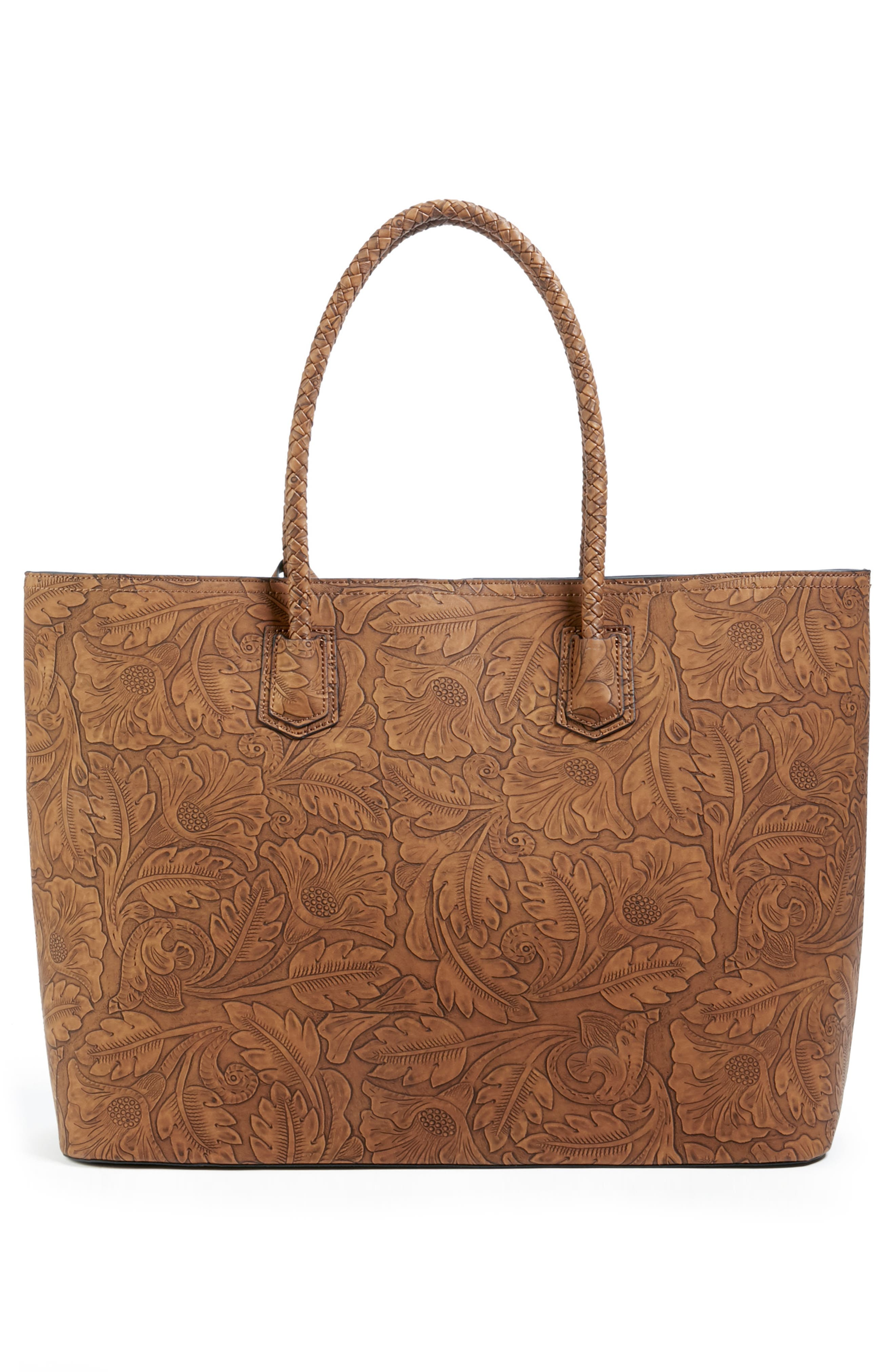 Hawna Faux Leather Tote,                             Alternate thumbnail 2, color,                             200