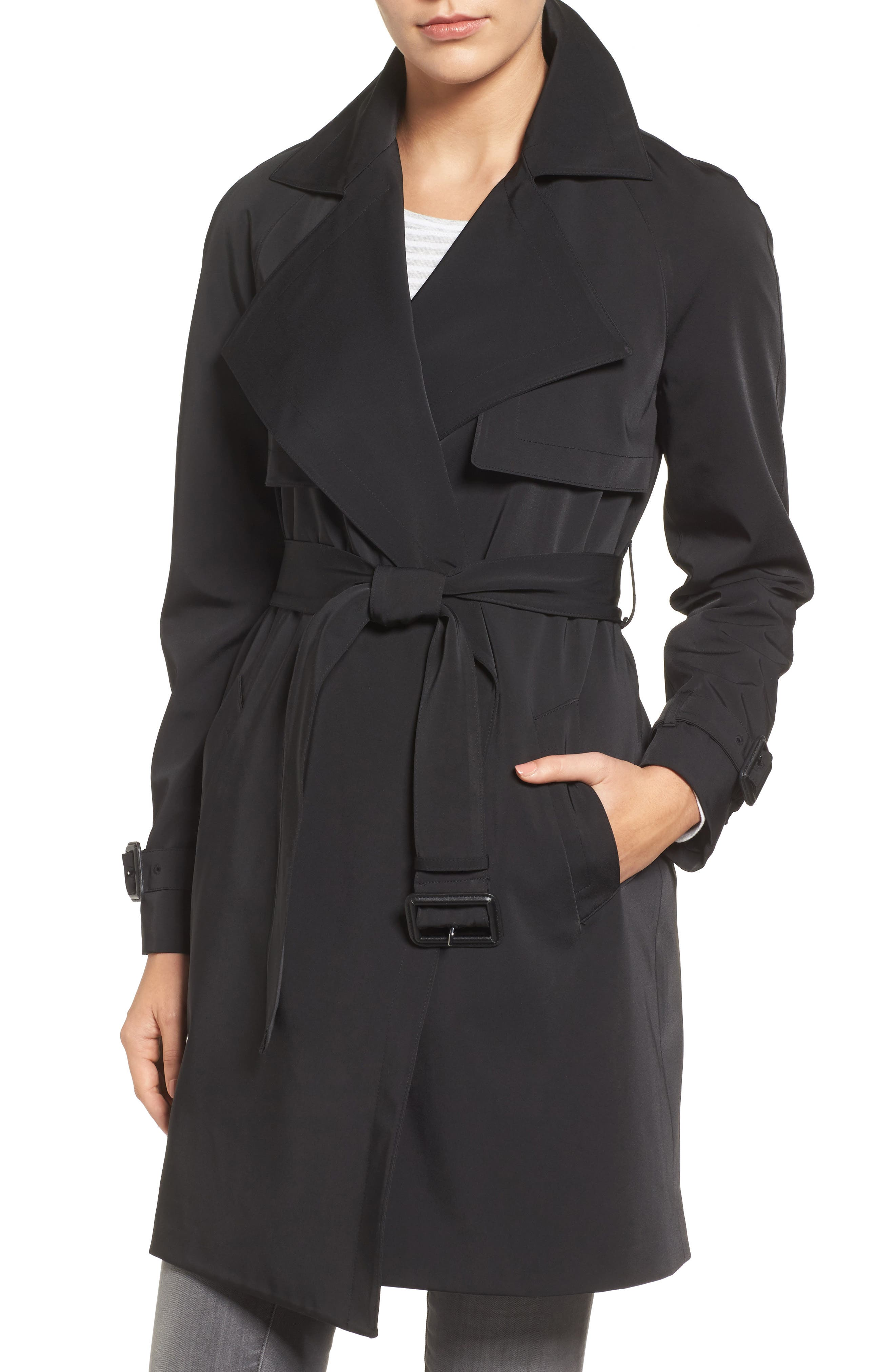 Trench Coat,                         Main,                         color, 001