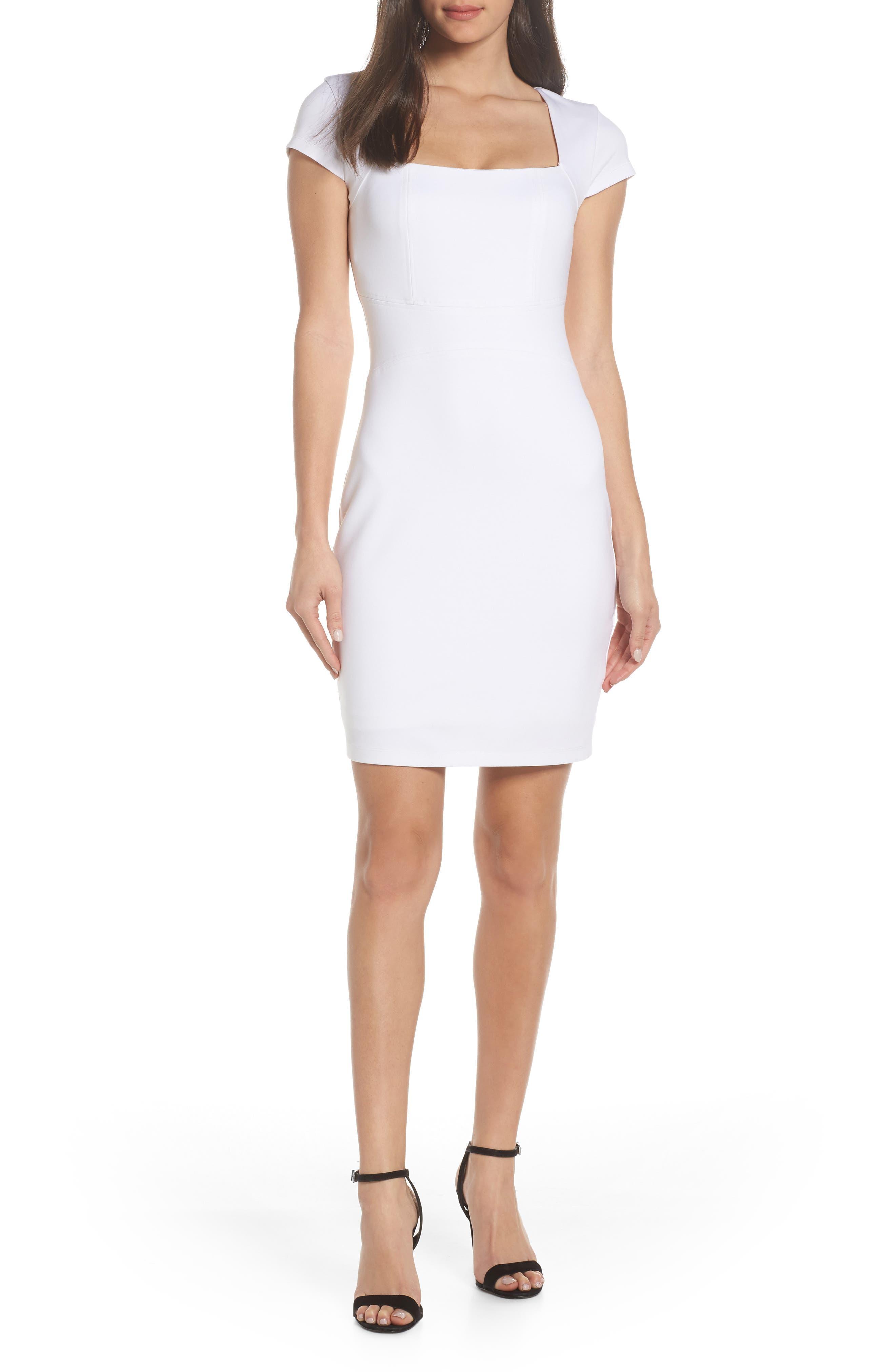 Ali & Jay Olive Street Body-Con Dress, White