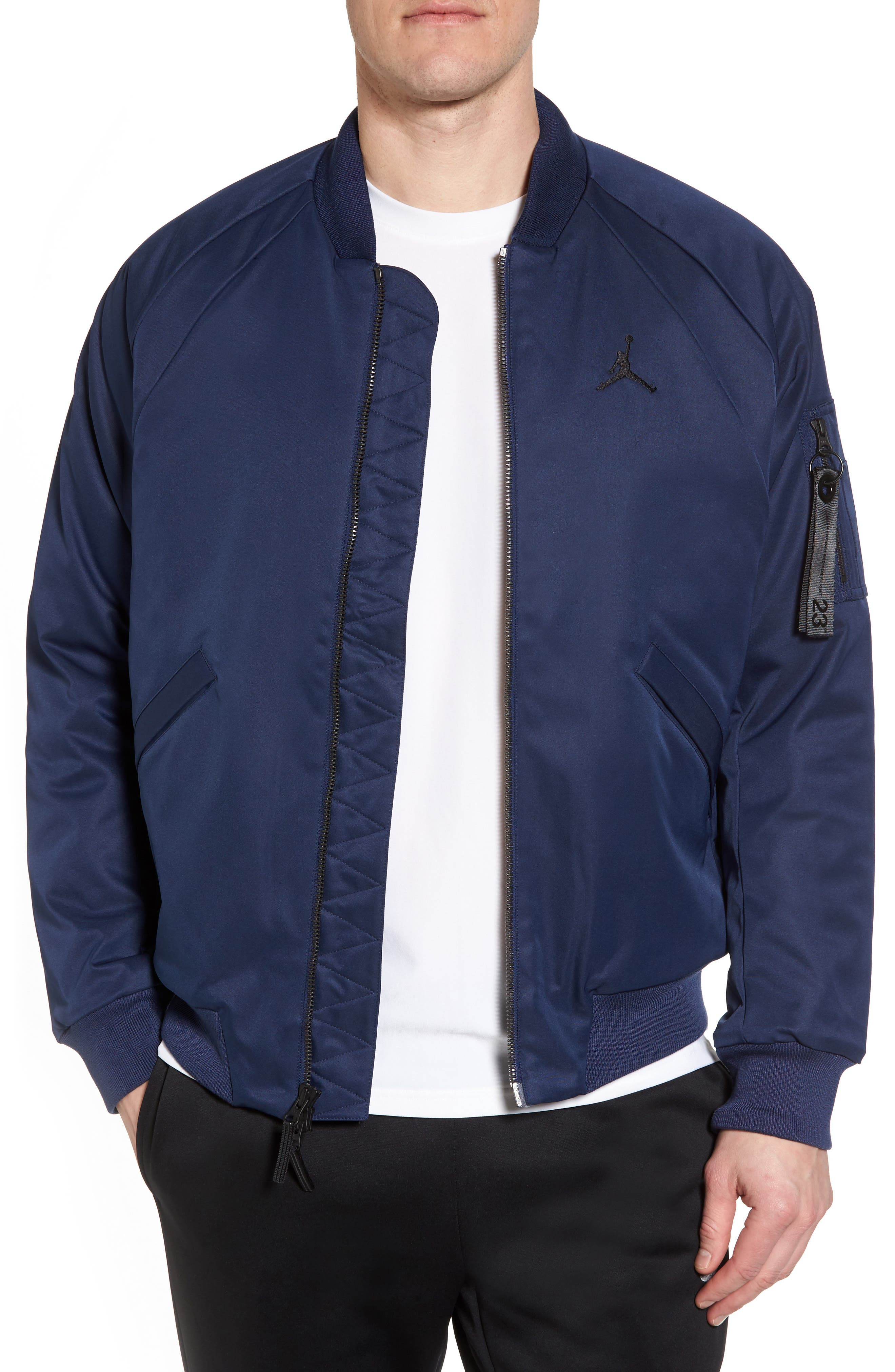 Sportswear Wings MA-1 Bomber Jacket,                             Main thumbnail 2, color,