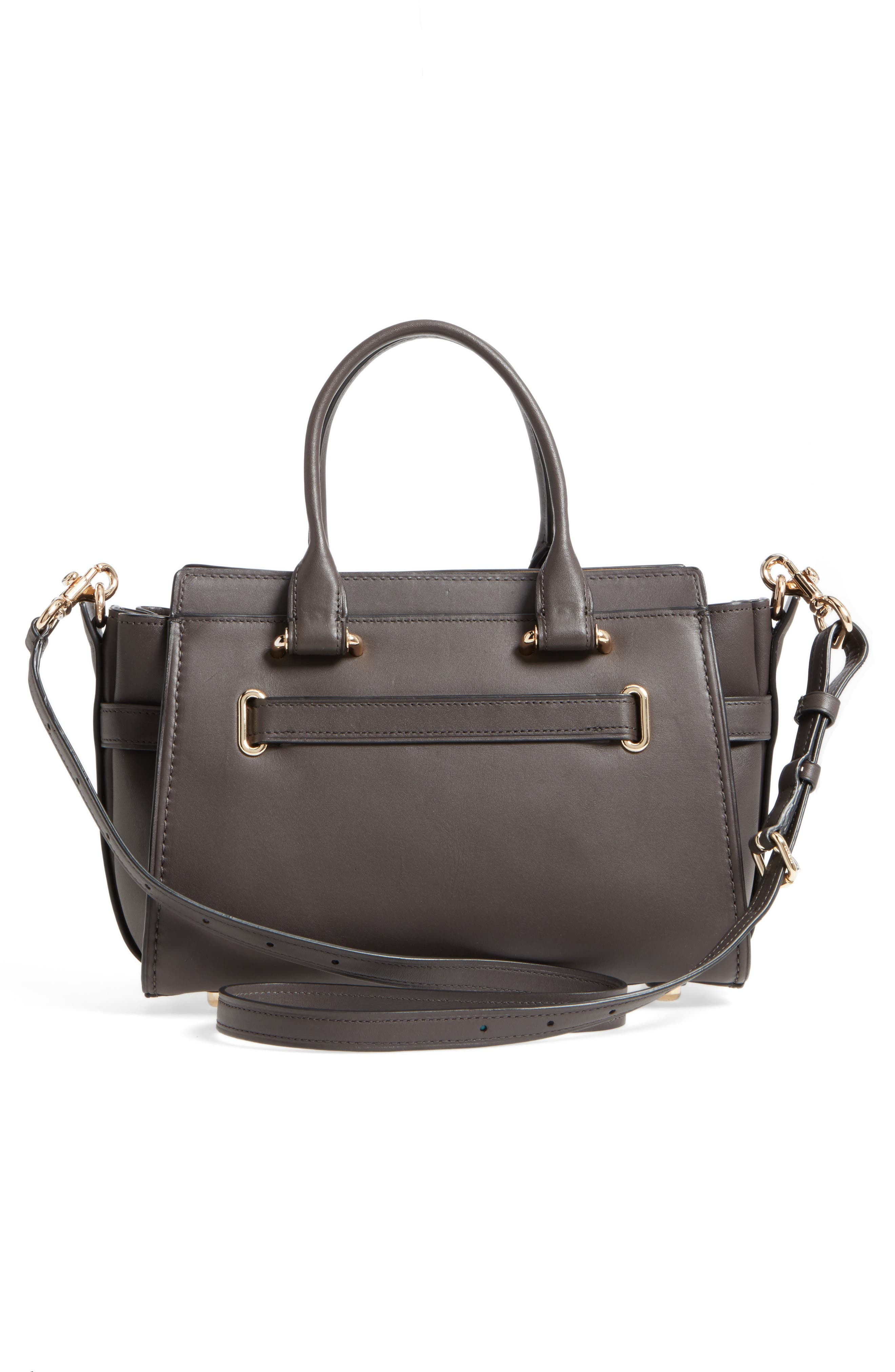 Swagger 27 Calfskin Leather Satchel,                             Alternate thumbnail 6, color,