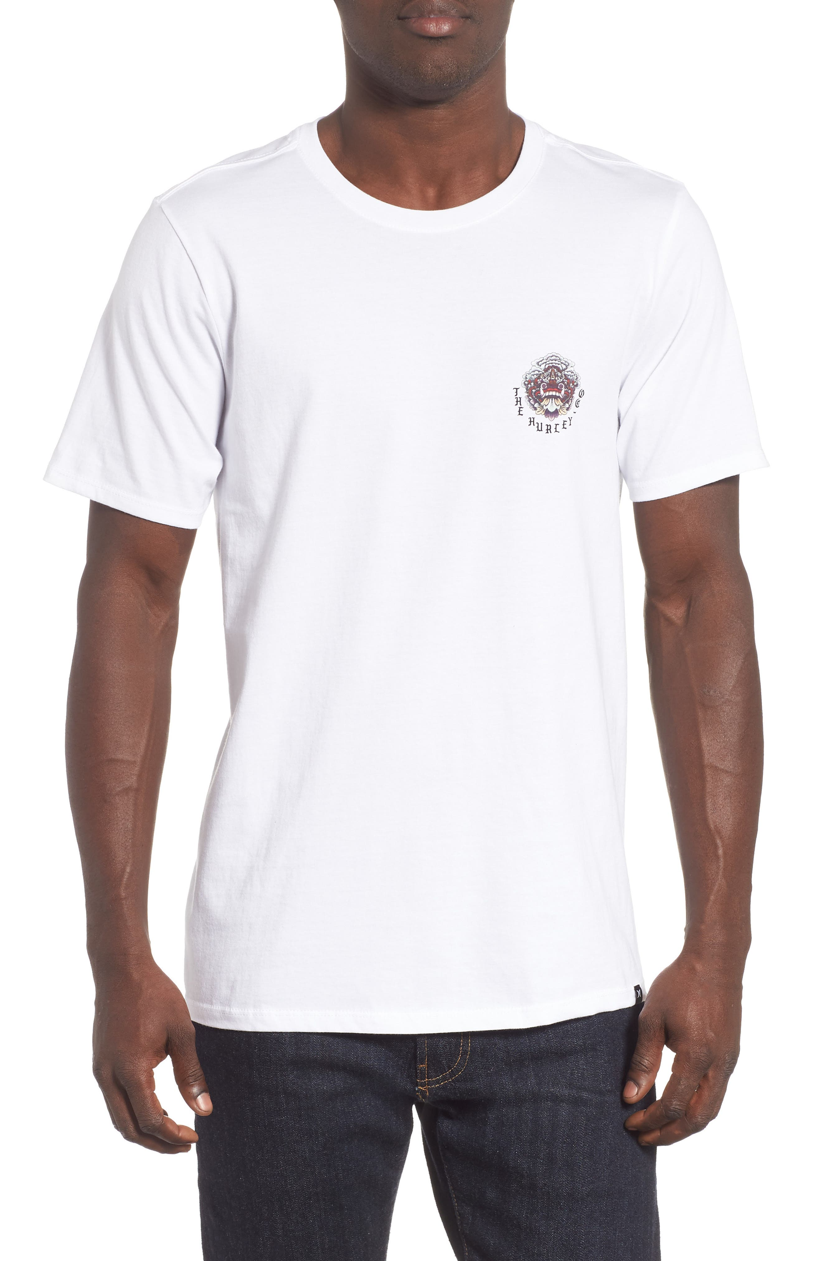 HURLEY Premium Bagus T-Shirt in White