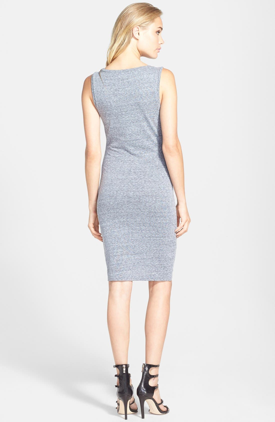 Ruched Body-Con Tank Dress,                             Alternate thumbnail 201, color,