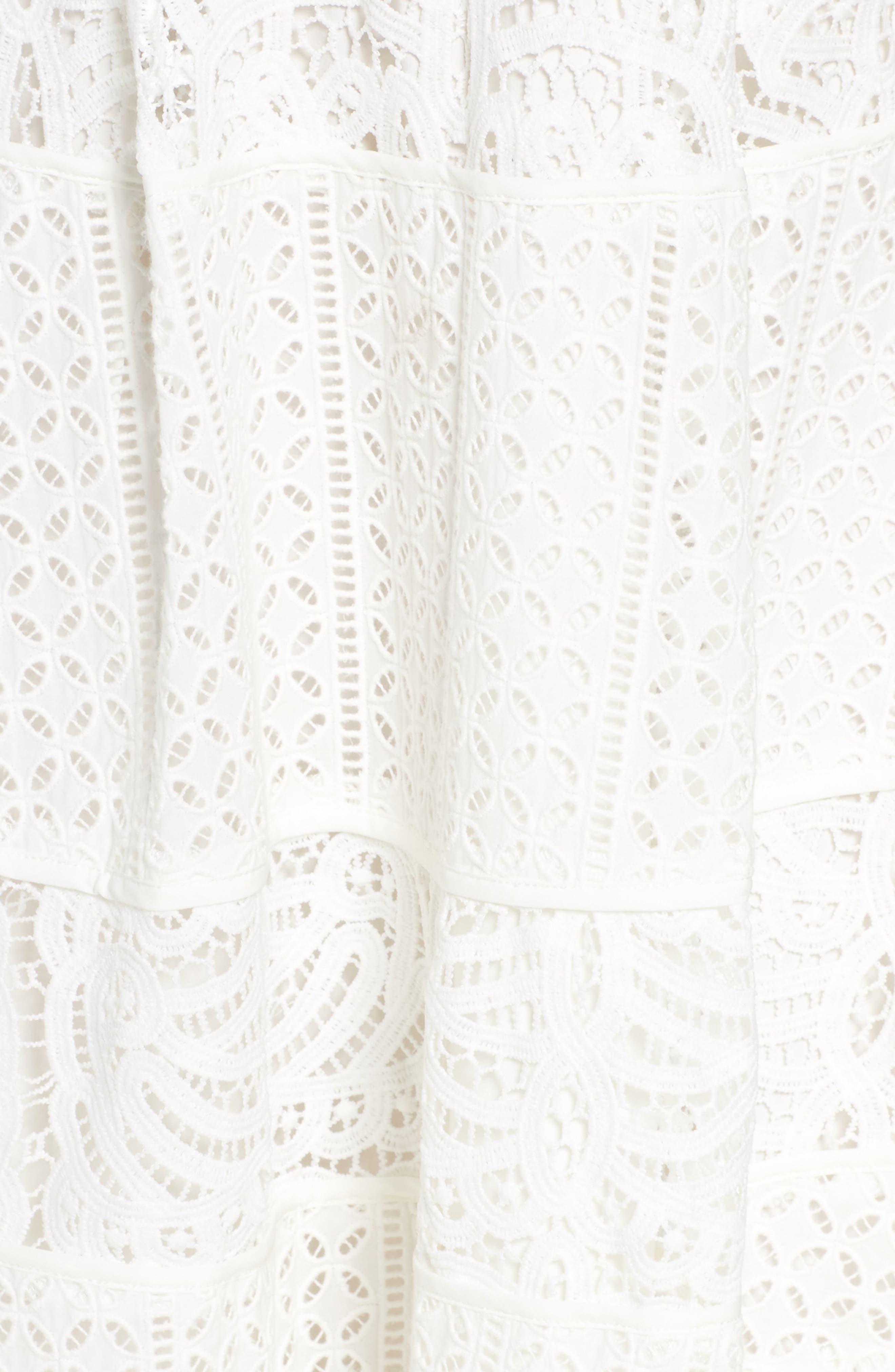 Fit & Flare Midi Dress,                             Alternate thumbnail 19, color,