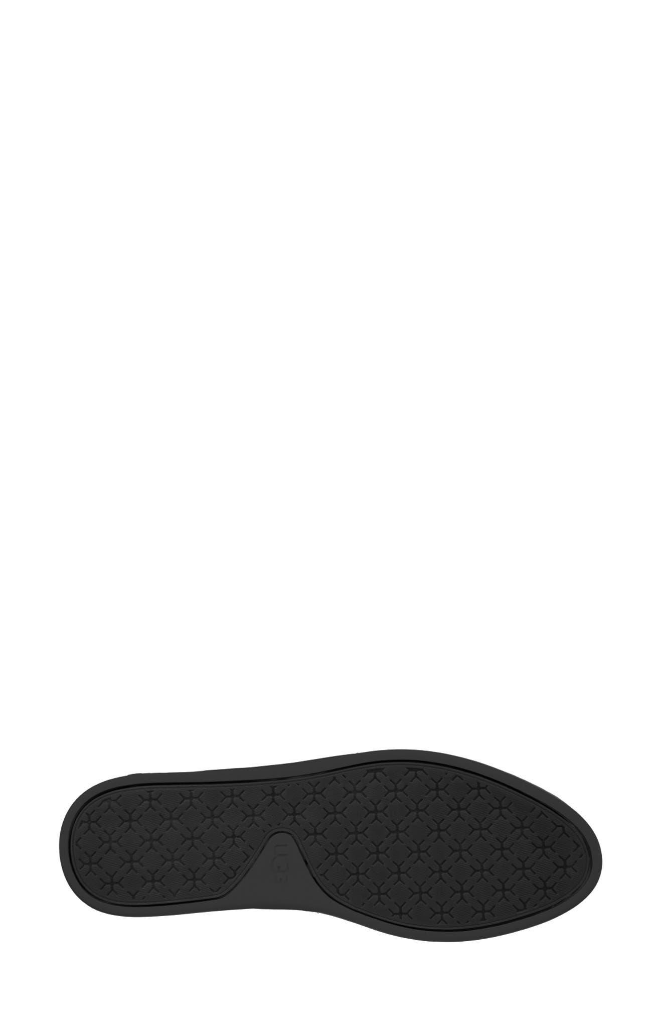 Sammy Sneaker,                             Alternate thumbnail 5, color,                             BLACK/ BLACK FABRIC